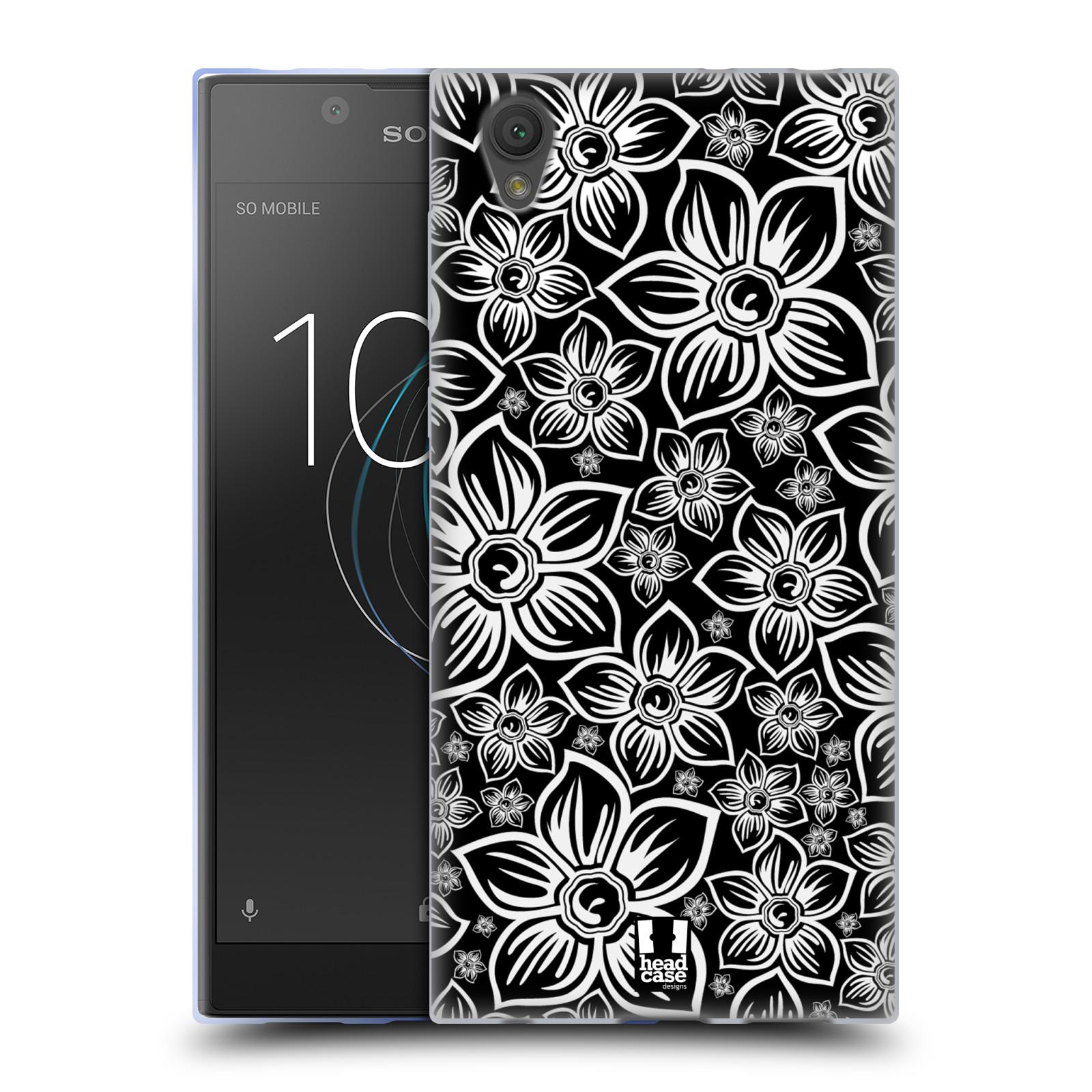 Silikonové pouzdro na mobil Sony Xperia L1 - Head Case - FLORAL DAISY