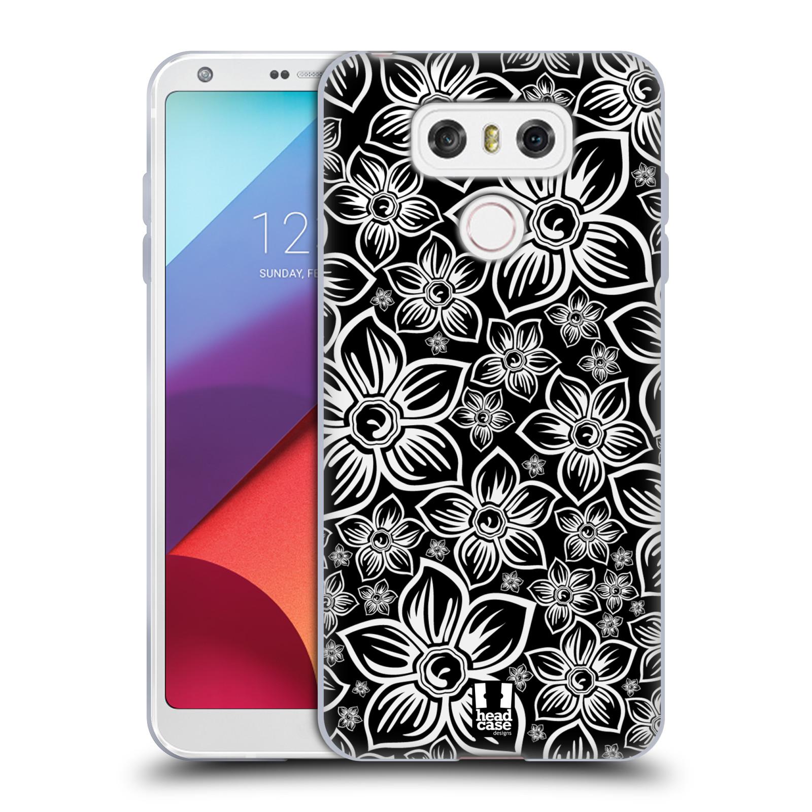 Silikonové pouzdro na mobil LG G6 - Head Case FLORAL DAISY