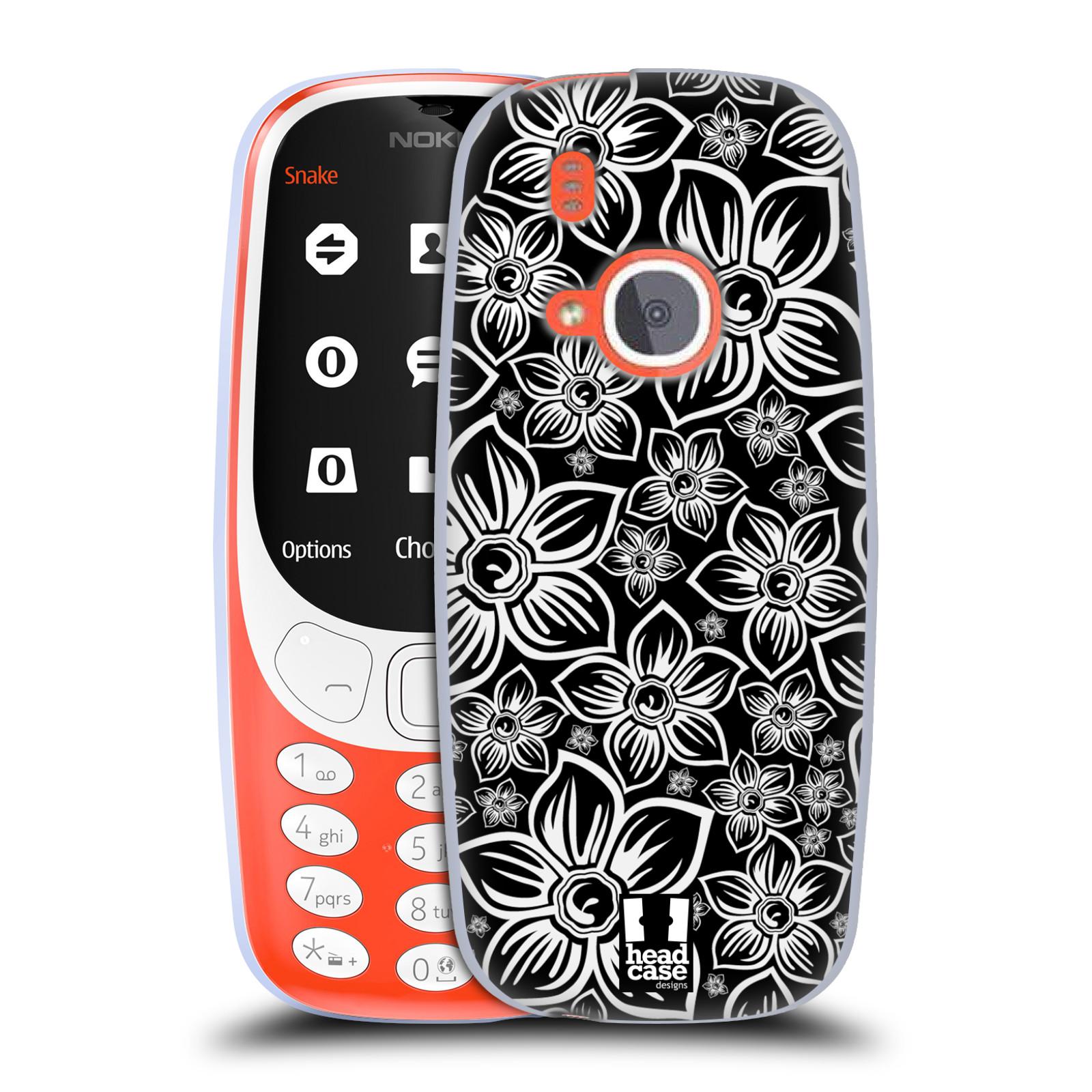 Silikonové pouzdro na mobil Nokia 3310 - Head Case - FLORAL DAISY