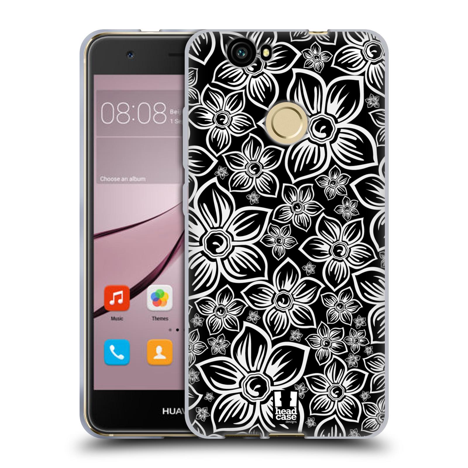 Silikonové pouzdro na mobil Huawei Nova - Head Case - FLORAL DAISY