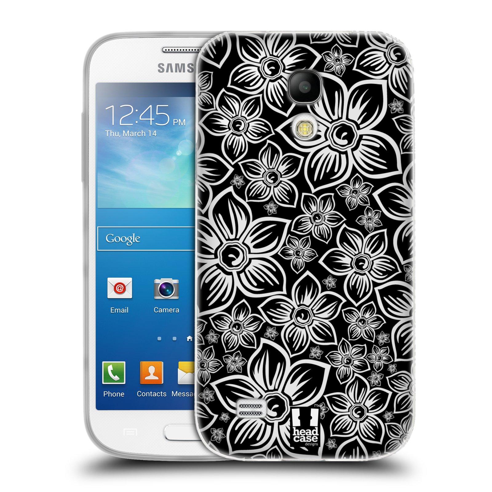 Silikonové pouzdro na mobil Samsung Galaxy S4 Mini HEAD CASE FLORAL DAISY