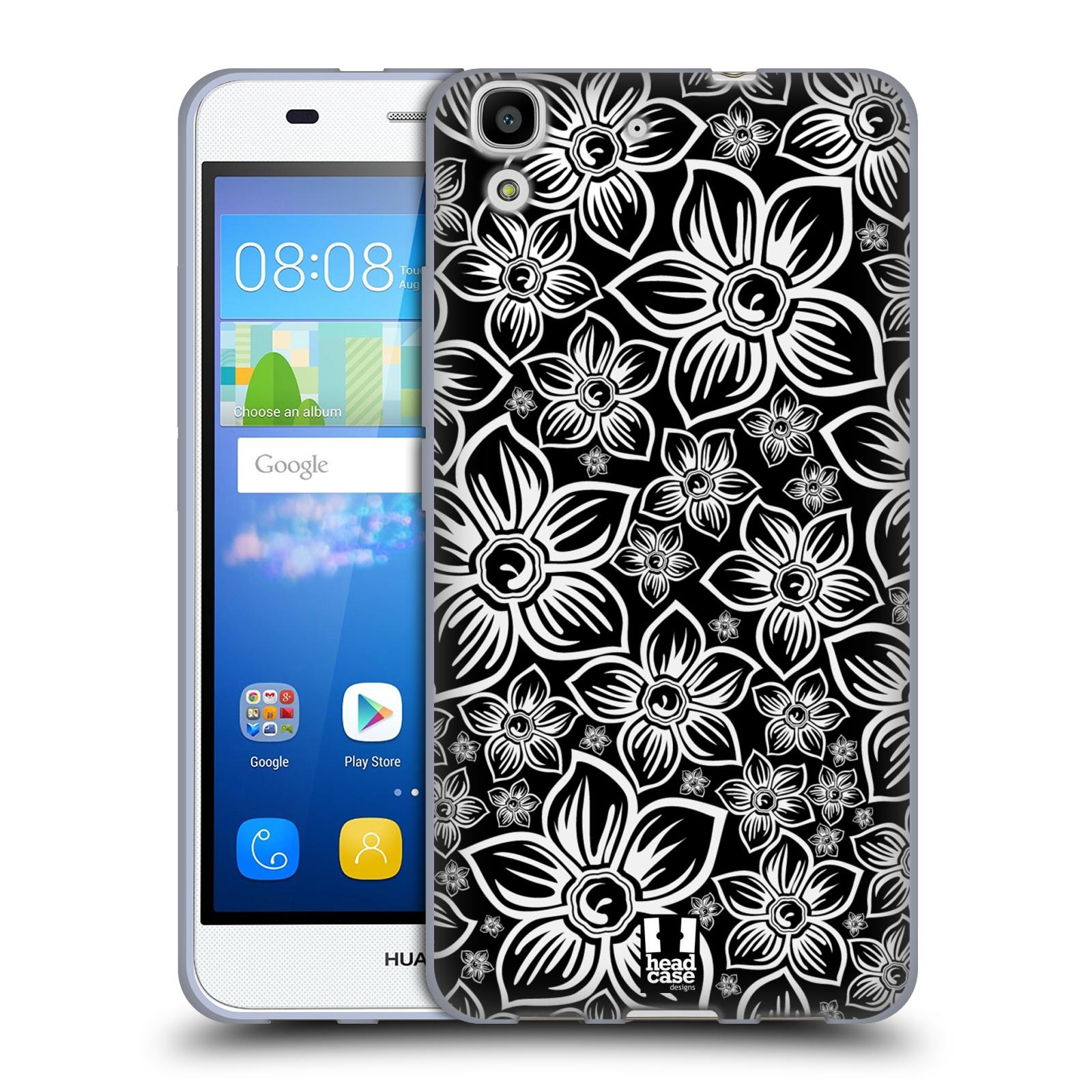 Silikonové pouzdro na mobil Huawei Y6 HEAD CASE FLORAL DAISY