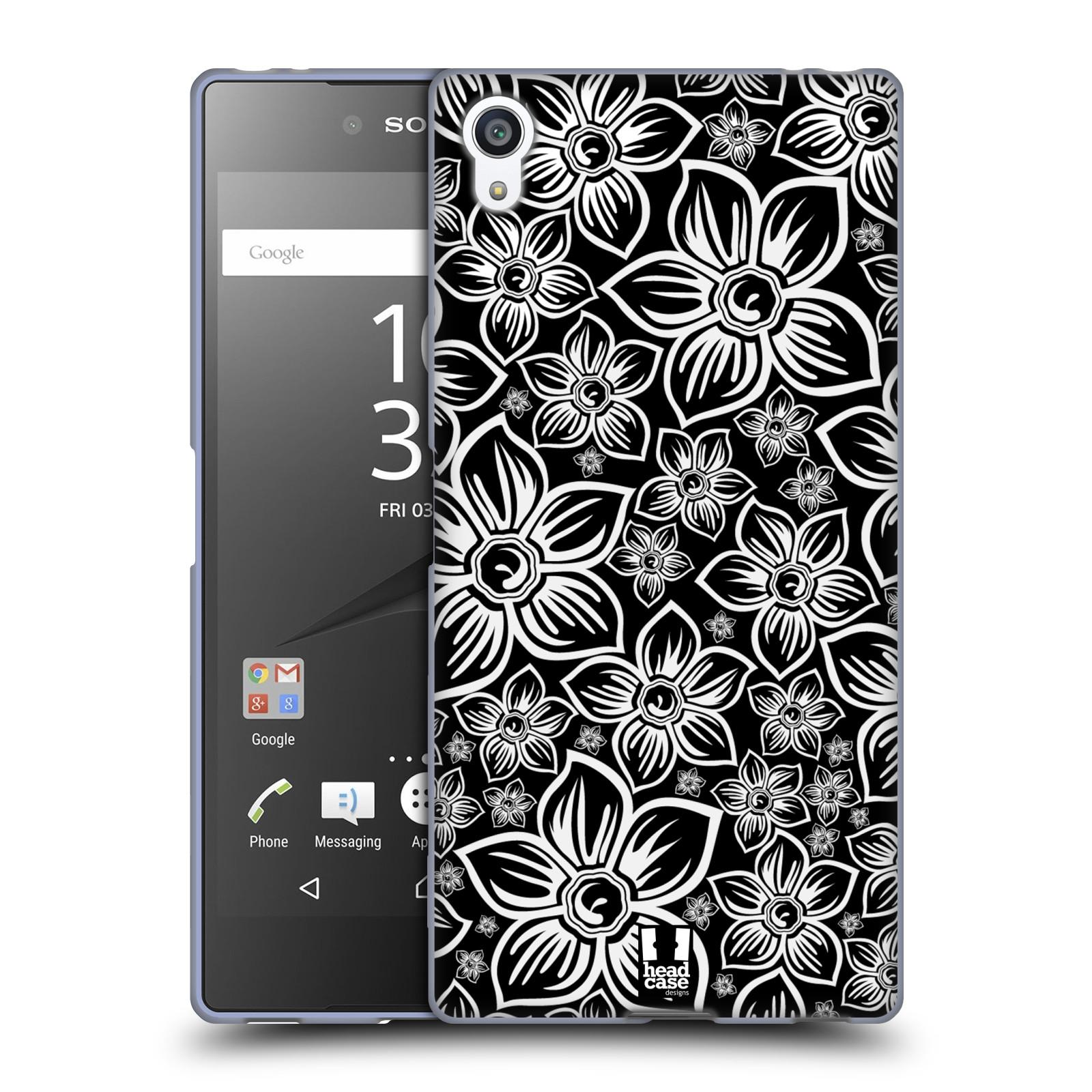Silikonové pouzdro na mobil Sony Xperia Z5 Premium HEAD CASE FLORAL DAISY