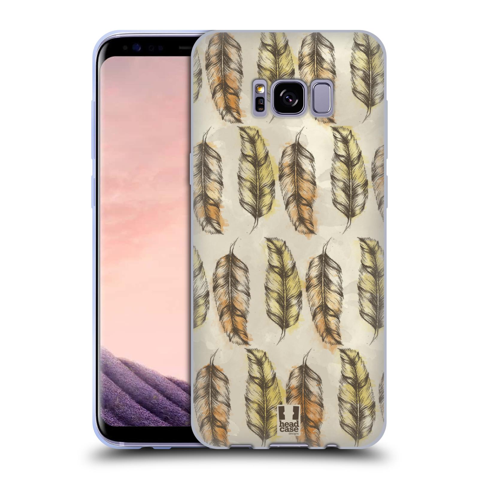 Silikonové pouzdro na mobil Samsung Galaxy S8+ (Plus) - Head Case - Bohémská pírka (Silikonový kryt či obal na mobilní telefon s motivem Bohemian Soul pro Samsung Galaxy S8+ (Plus) SM-G9550)