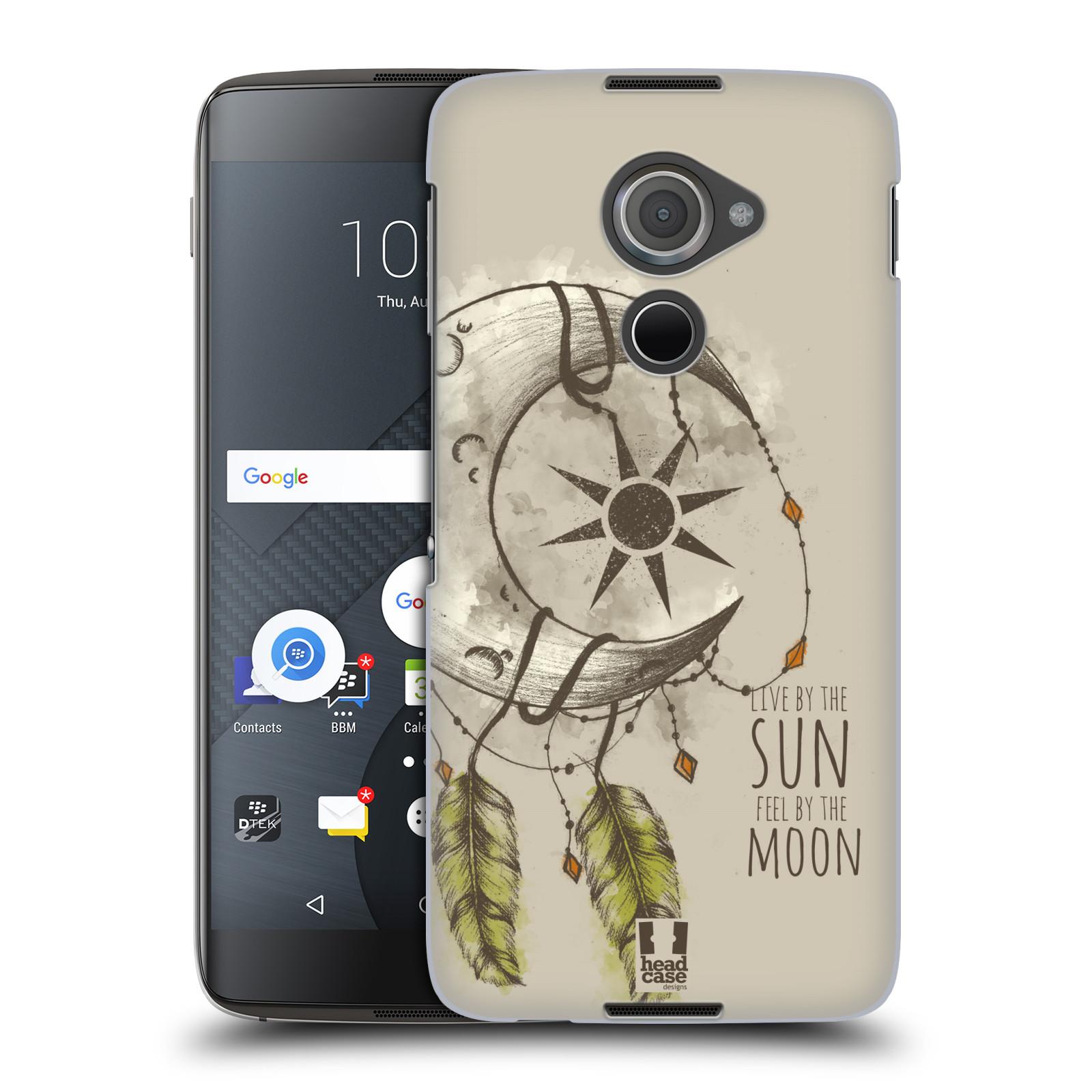 Plastové pouzdro na mobil Blackberry DTEK60 (Argon) - Head Case - Bohémský lapač (Plastový kryt či obal na mobilní telefon s motivem Bohemian Soul pro Blackberry DTEK60 (Argon))