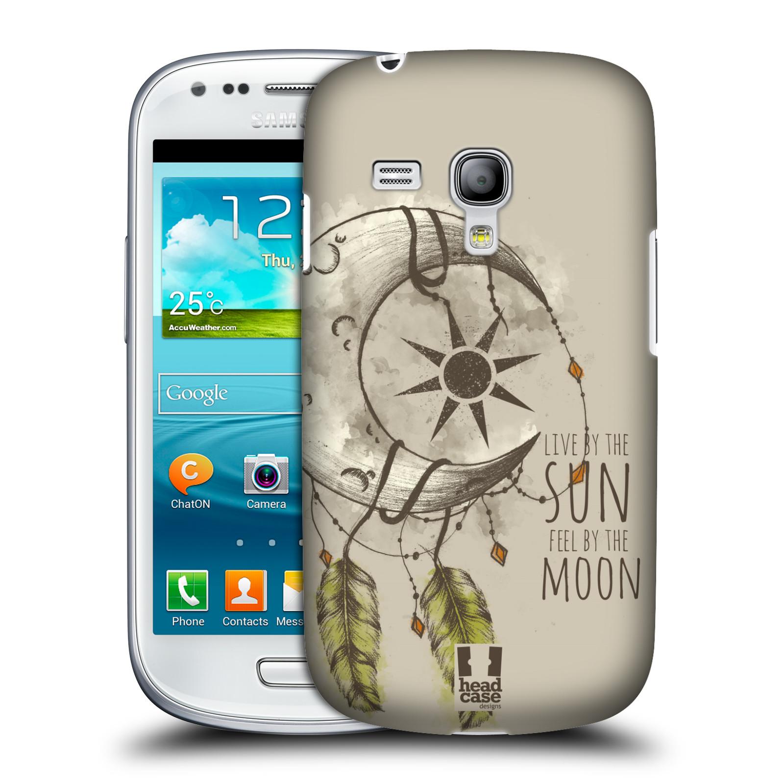 Silikonové pouzdro na mobil Samsung Galaxy S III Mini VE - Head Case - Bohémský lapač (Plastový kryt či obal na mobilní telefon s motivem Bohemian Soul pro Samsung Galaxy S3 Mini VE GT-i8200)
