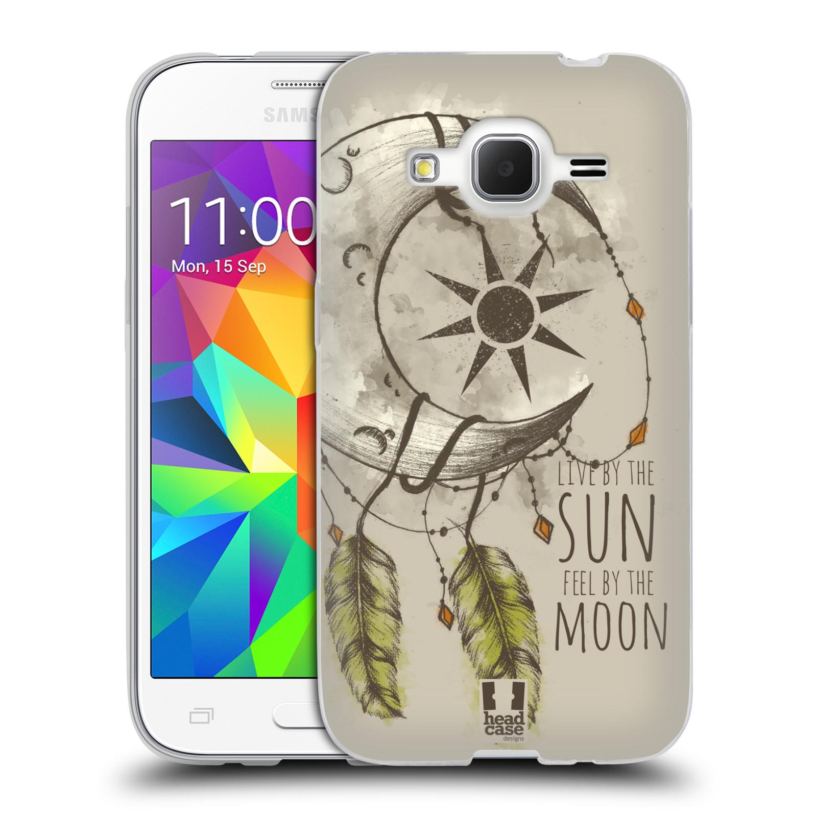 Silikonové pouzdro na mobil Samsung Galaxy Core Prime VE - Head Case - Bohémský lapač (Silikonový kryt či obal na mobilní telefon s motivem Bohemian Soul pro Samsung Galaxy Core Prime LTE VE SM-G361F)