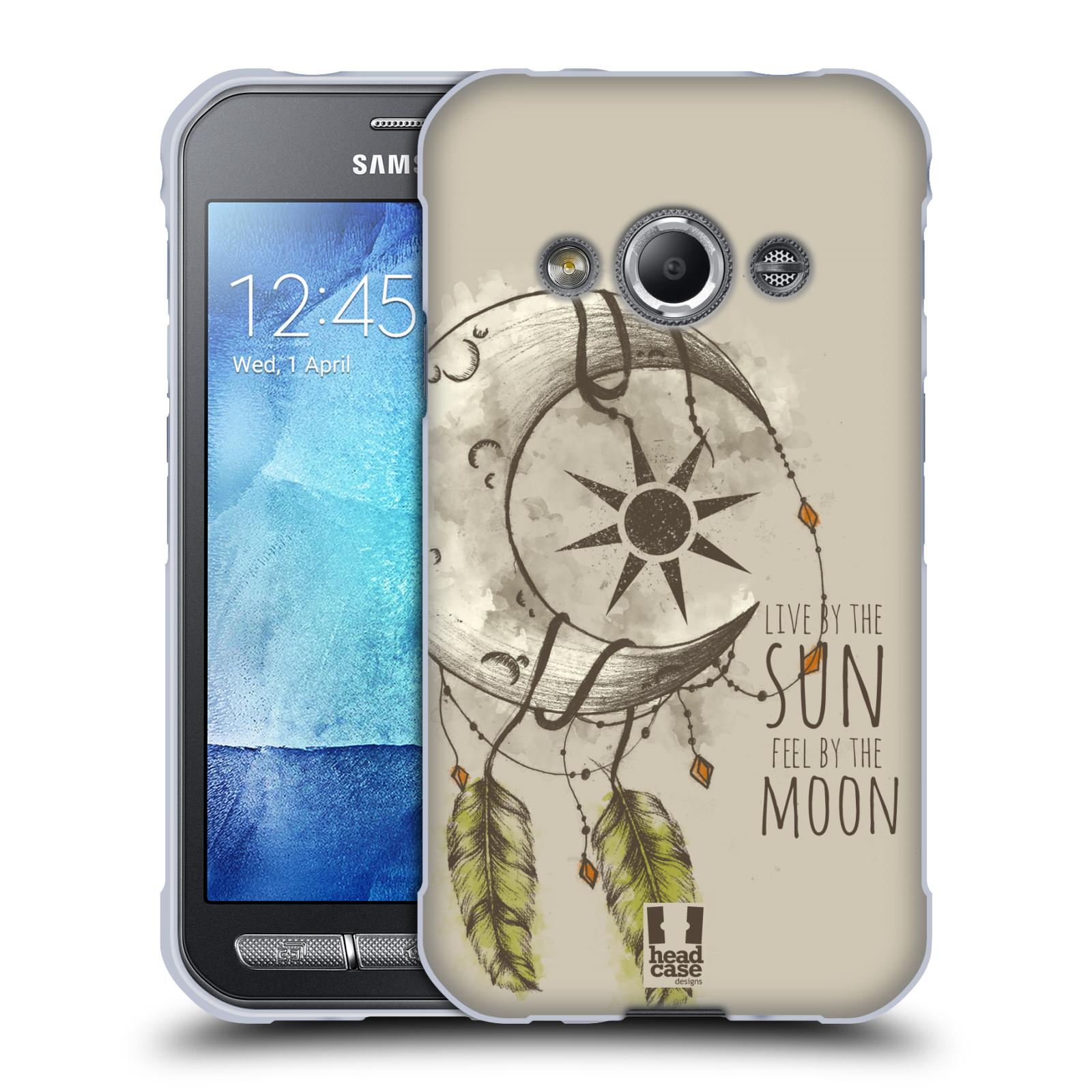 Silikonové pouzdro na mobil Samsung Galaxy Xcover 3 - Head Case - Bohémský lapač (Silikonový kryt či obal na mobilní telefon s motivem Bohemian Soul pro Samsung Galaxy Xcover 3 SM-G388F)