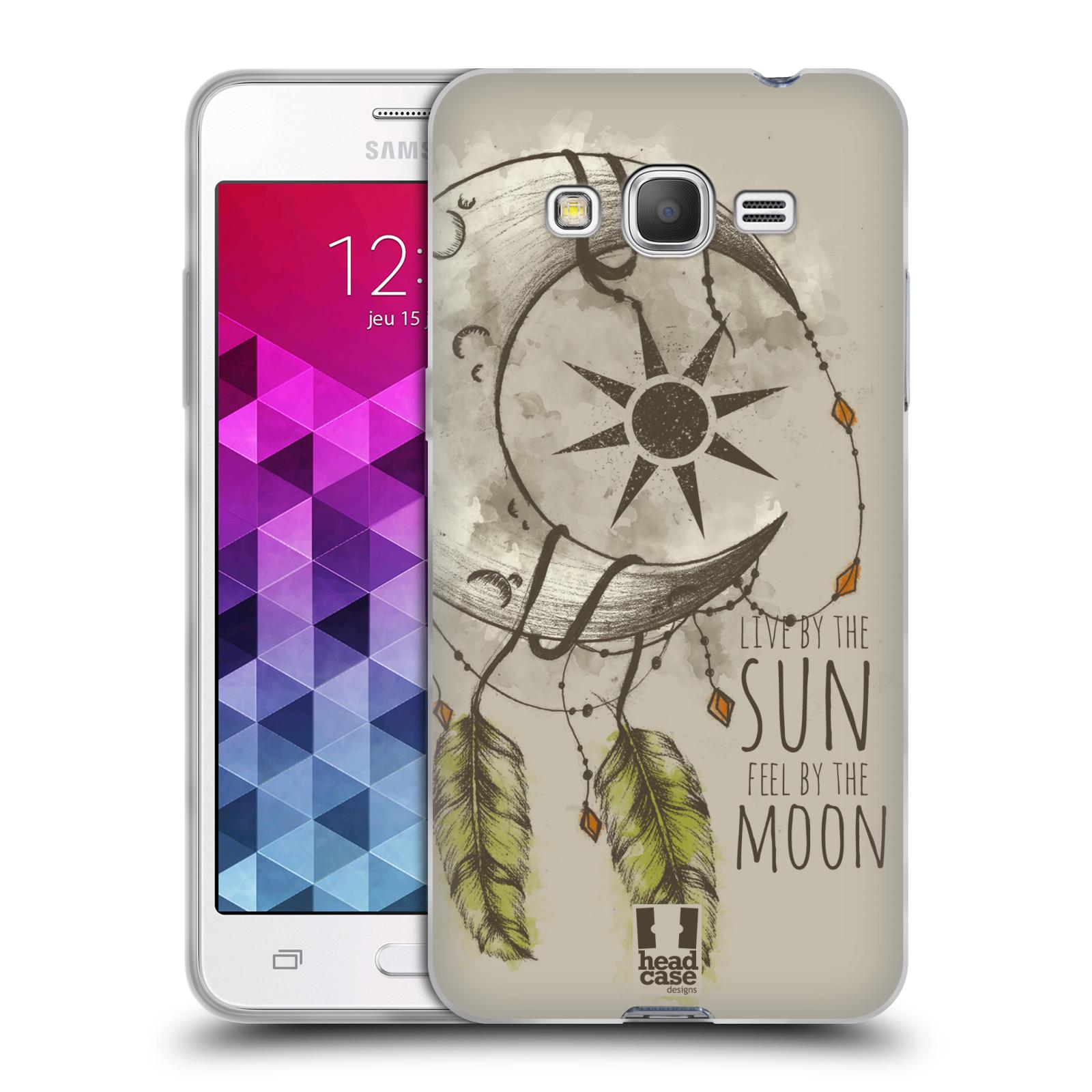 Silikonové pouzdro na mobil Samsung Galaxy Grand Prime VE - Head Case - Bohémský lapač (Silikonový kryt či obal na mobilní telefon s motivem Bohemian Soul pro Samsung Galaxy Grand Prime VE SM-G531F)
