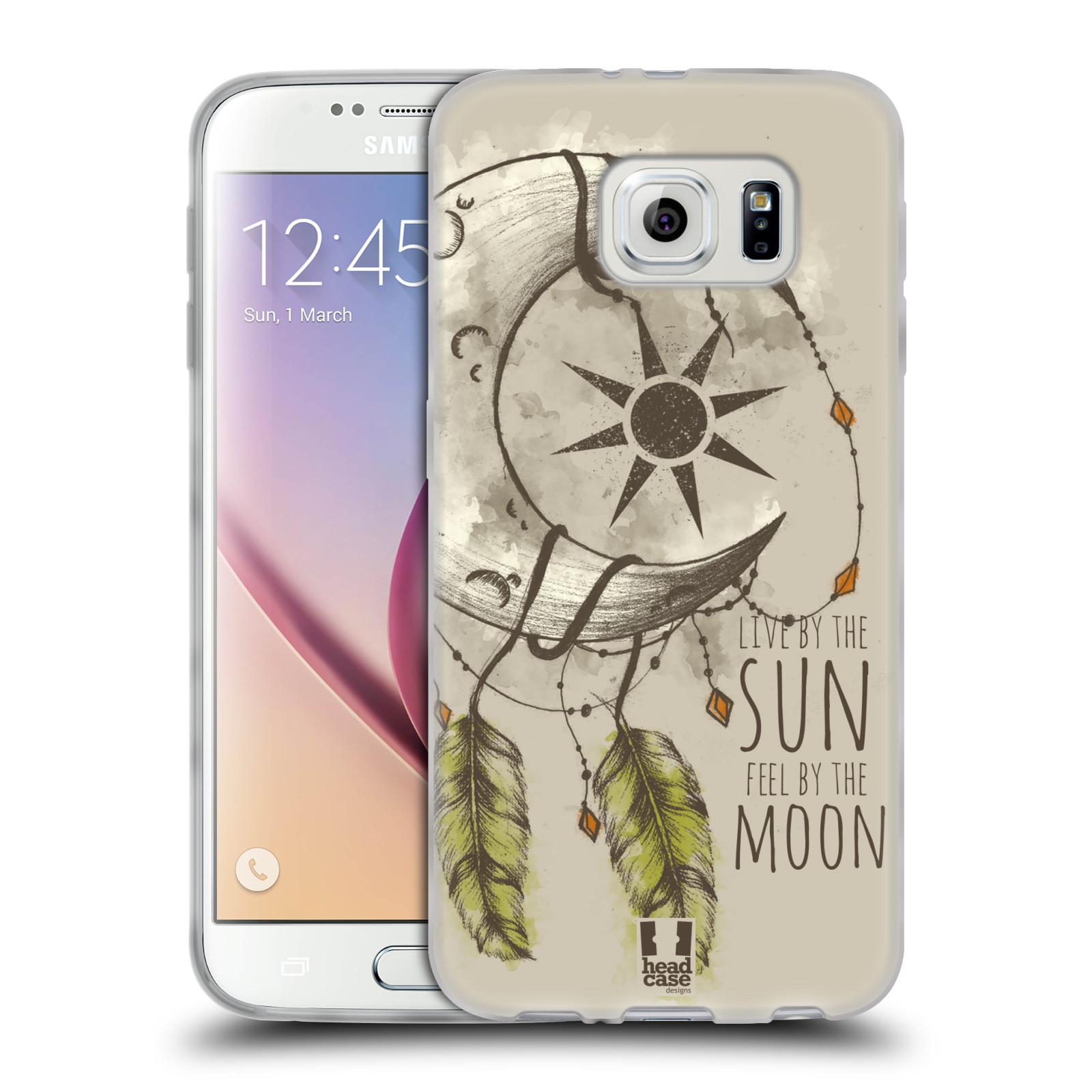 Silikonové pouzdro na mobil Samsung Galaxy S6 - Head Case - Bohémský lapač (Silikonový kryt či obal na mobilní telefon s motivem Bohemian Soul pro Samsung Galaxy S6 SM-G920F)