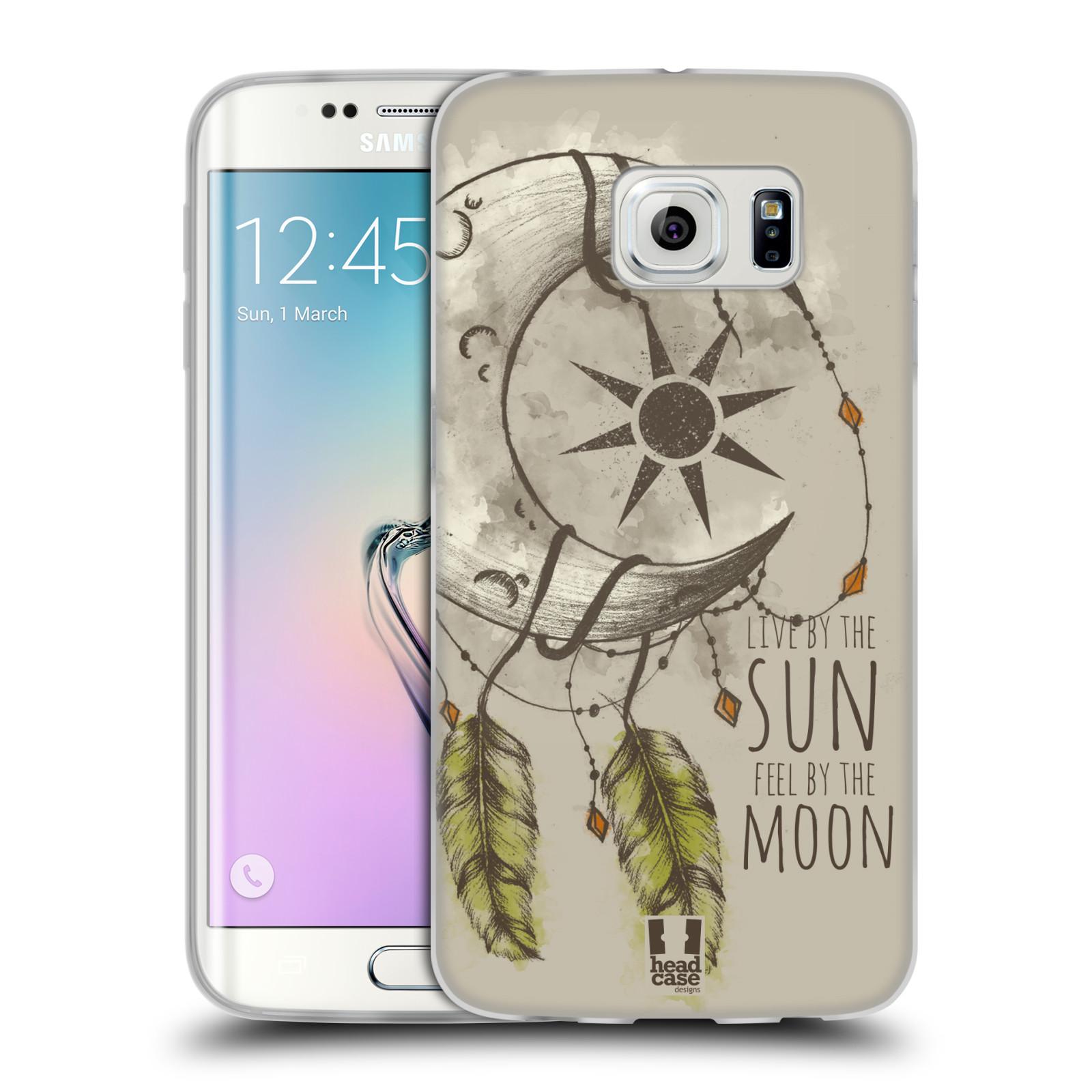 Silikonové pouzdro na mobil Samsung Galaxy S6 Edge - Head Case - Bohémský lapač (Silikonový kryt či obal na mobilní telefon s motivem Bohemian Soul pro Samsung Galaxy S6 Edge SM-G925F)
