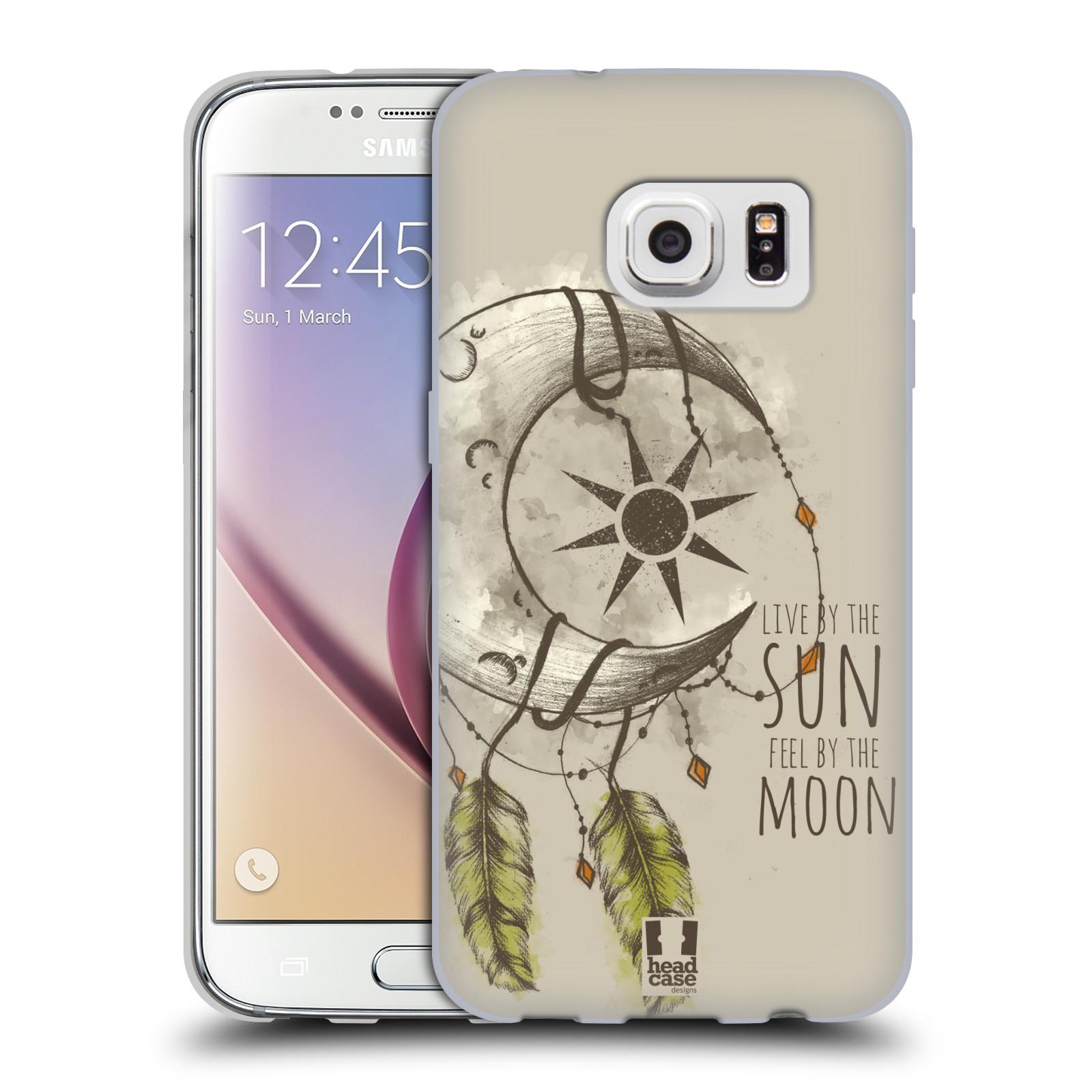Silikonové pouzdro na mobil Samsung Galaxy S7 - Head Case - Bohémský lapač