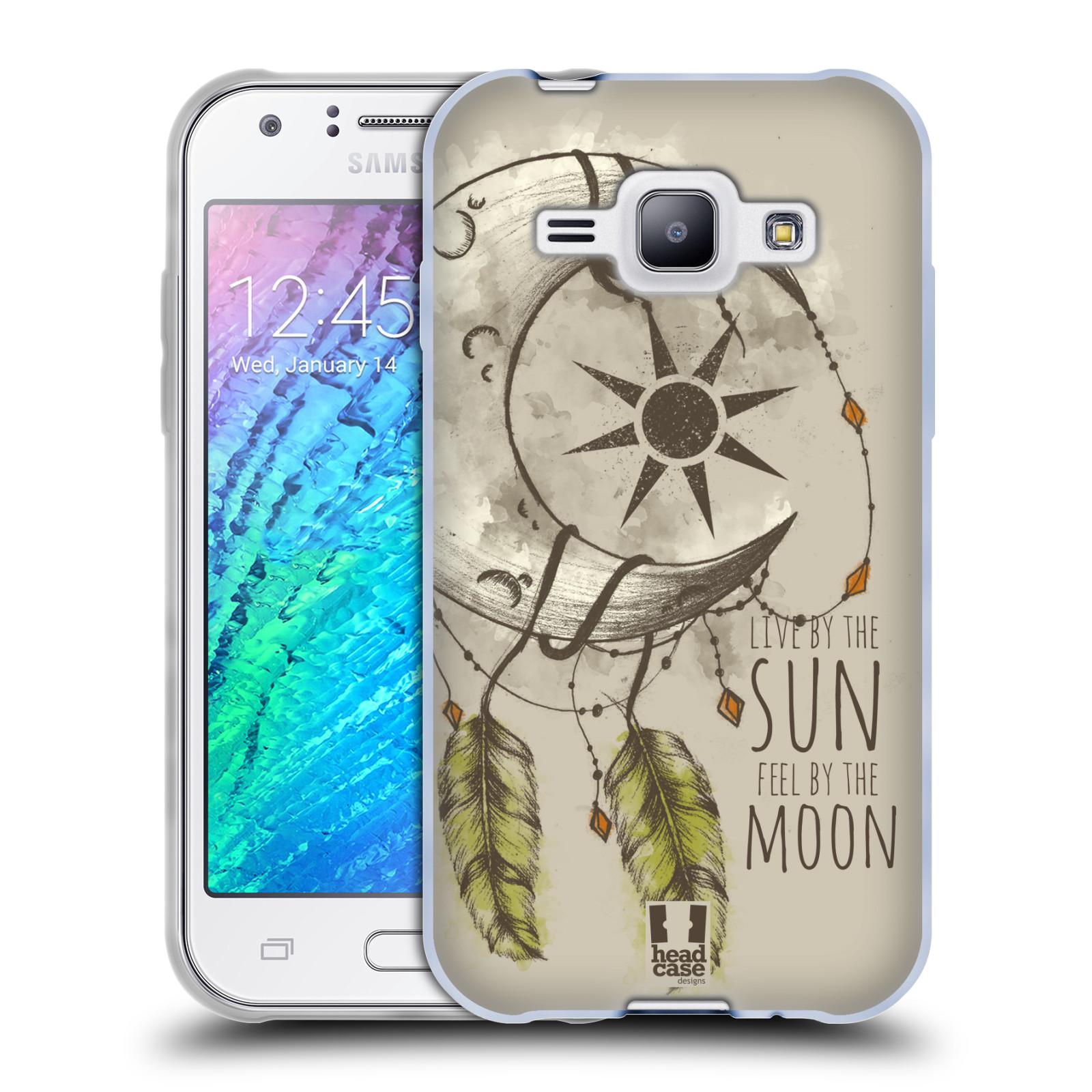 Silikonové pouzdro na mobil Samsung Galaxy J1 - Head Case - Bohémský lapač (Silikonový kryt či obal na mobilní telefon s motivem Bohemian Soul pro Samsung Galaxy J1 a J1 Duos)