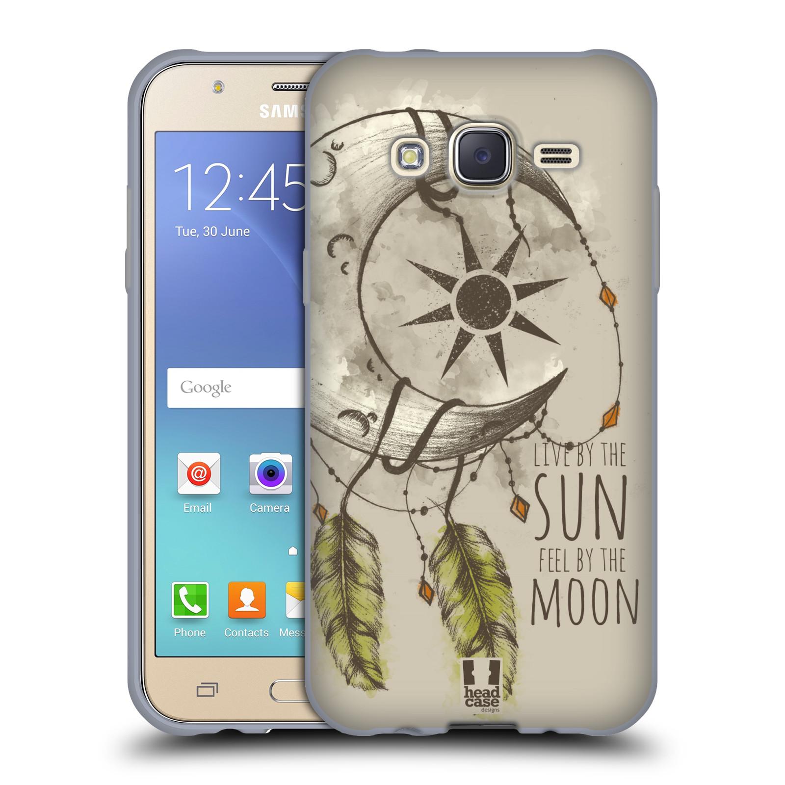 Silikonové pouzdro na mobil Samsung Galaxy J5 - Head Case - Bohémský lapač (Silikonový kryt či obal na mobilní telefon s motivem Bohemian Soul pro Samsung Galaxy Samsung Galaxy J5 SM-J500)