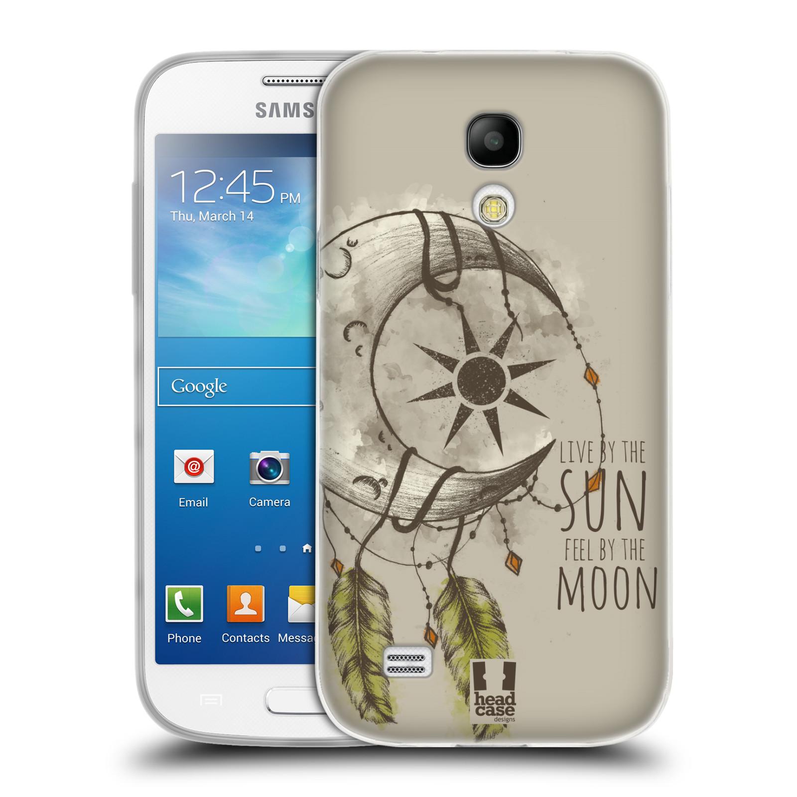 Silikonové pouzdro na mobil Samsung Galaxy S4 Mini - Head Case - Bohémský lapač (Silikonový kryt či obal na mobilní telefon s motivem Bohemian Soul pro Samsung Galaxy S4 Mini GT-i9195 / i9190)