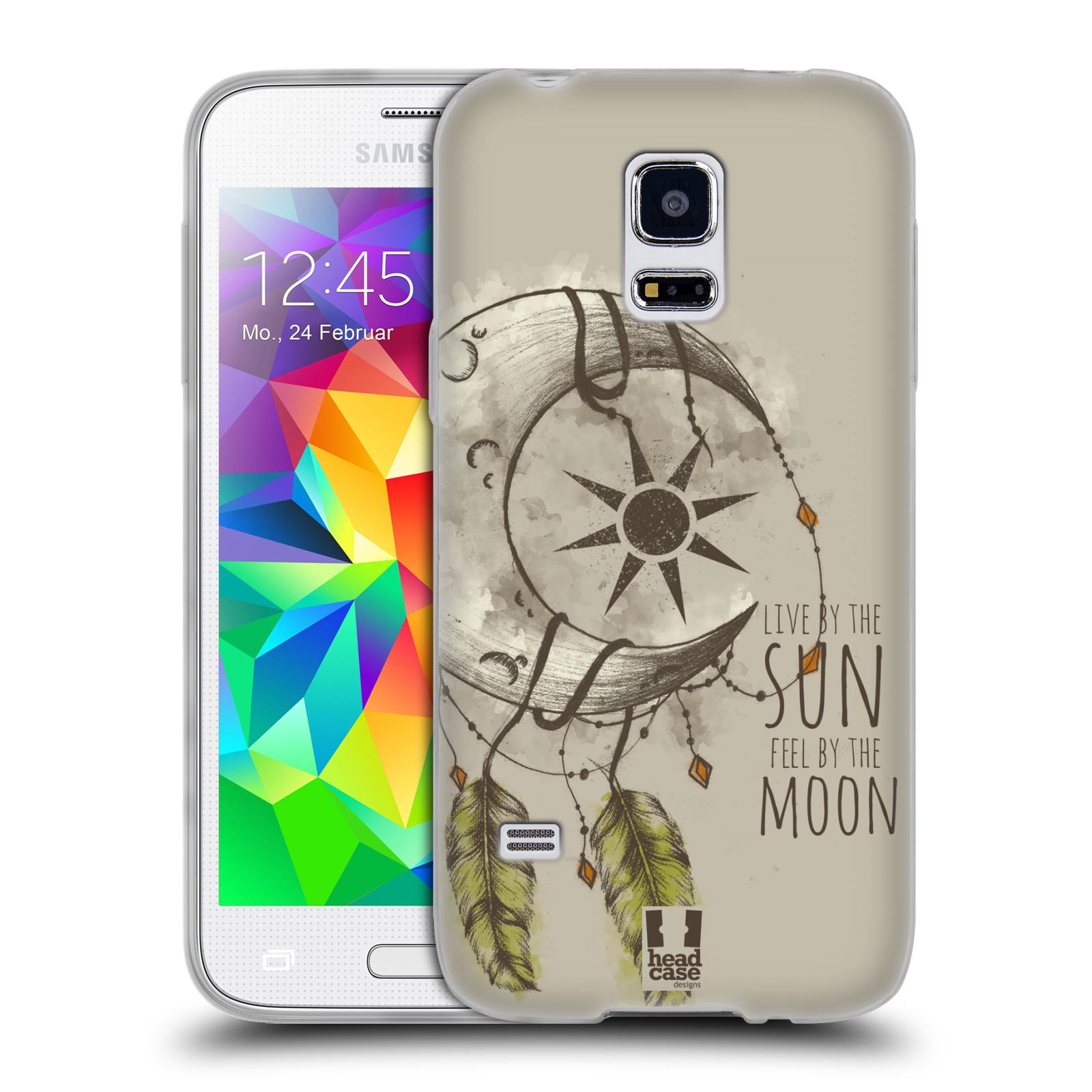 Silikonové pouzdro na mobil Samsung Galaxy S5 Mini - Head Case - Bohémský lapač (Silikonový kryt či obal na mobilní telefon s motivem Bohemian Soul pro Samsung Galaxy S5 Mini SM-G800F)