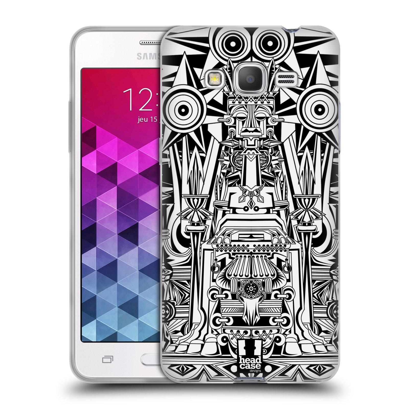 Silikonové pouzdro na mobil Samsung Galaxy Grand Prime VE HEAD CASE BULOL BADJAO
