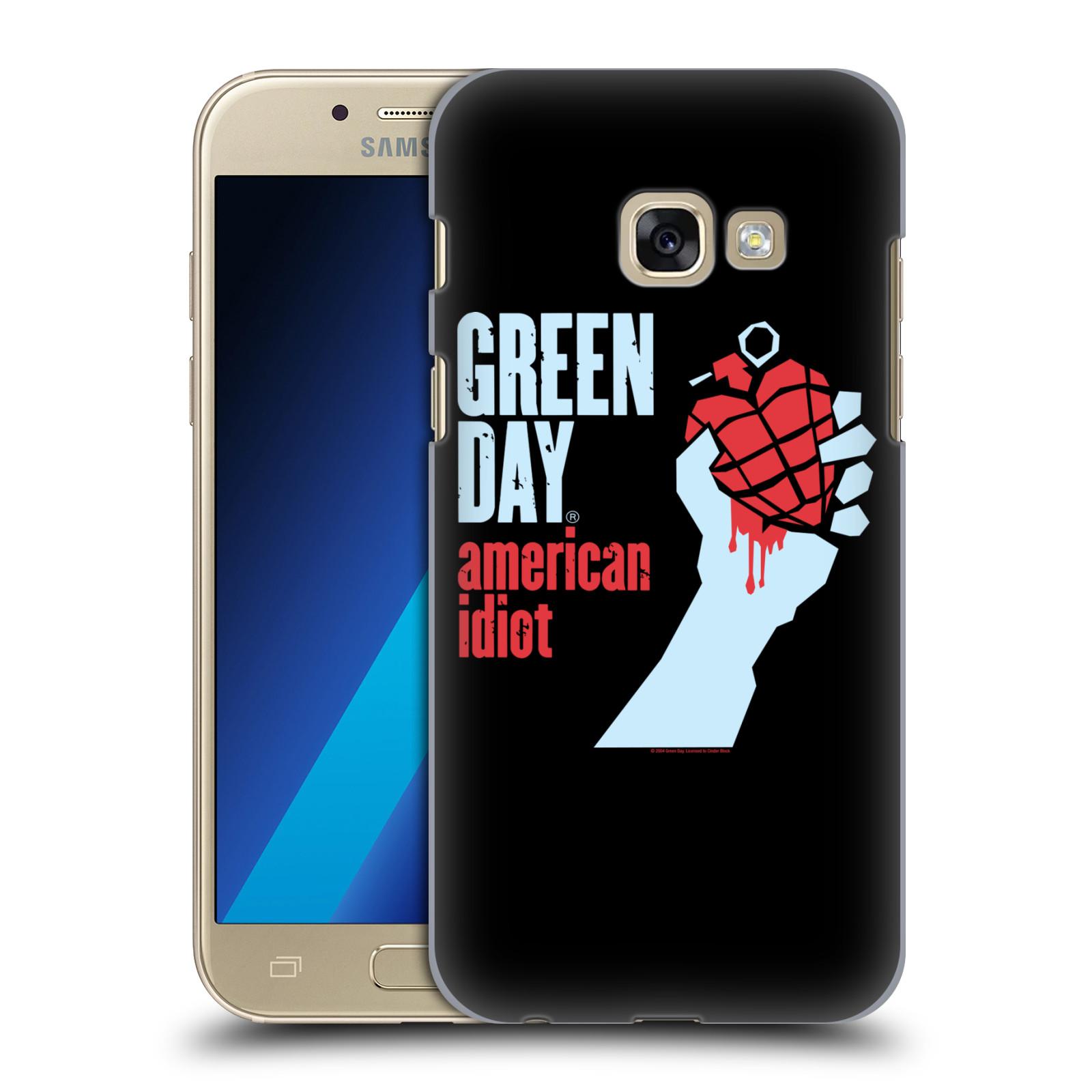 Plastové pouzdro na mobil Samsung Galaxy A3 (2017) HEAD CASE Green Day - American Idiot