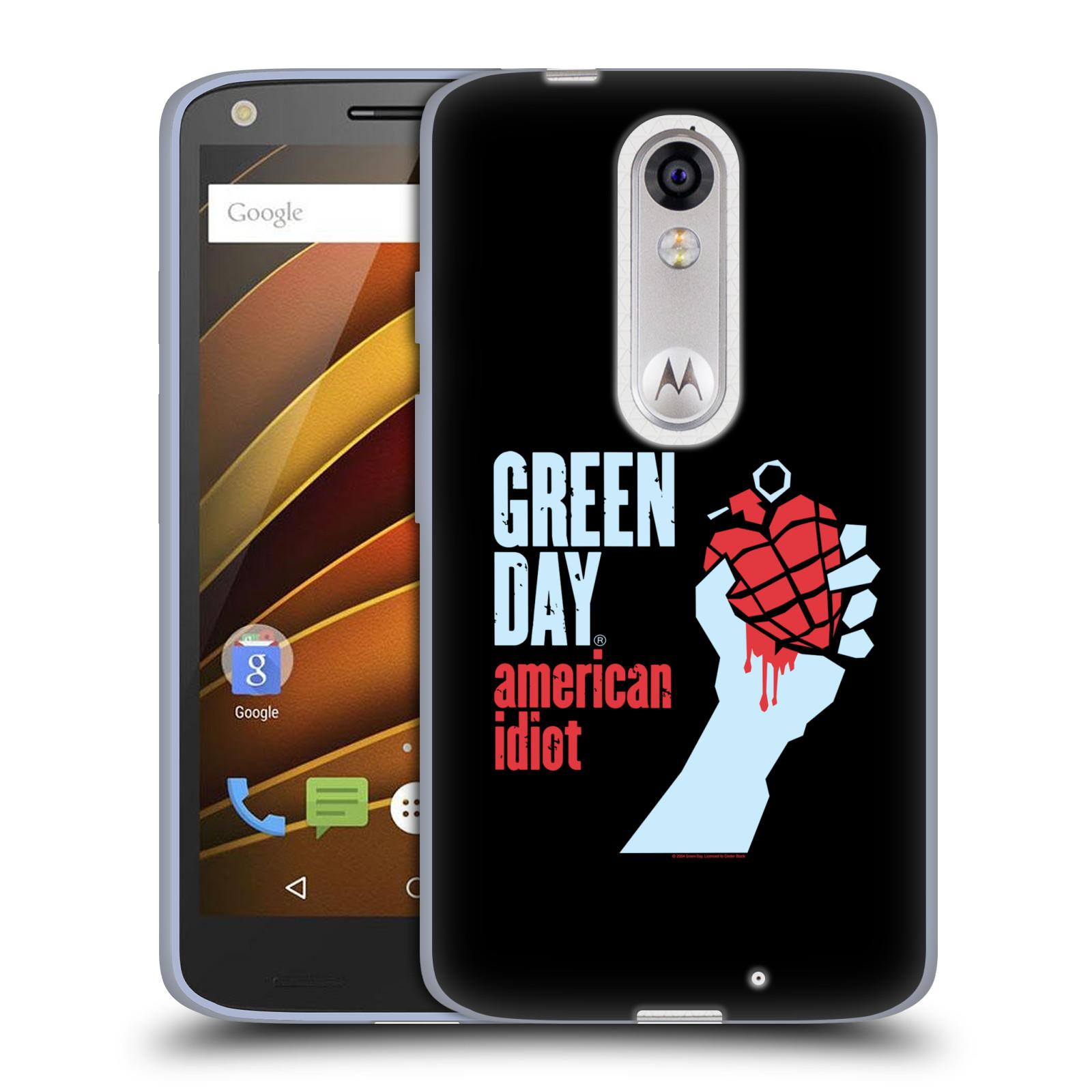 Silikonové pouzdro na mobil Lenovo Moto X Force HEAD CASE Green Day - American Idiot (Silikonový kryt či obal na mobilní telefon licencovaným motivem Green Day pro Lenovo Moto X Force (Motorola))
