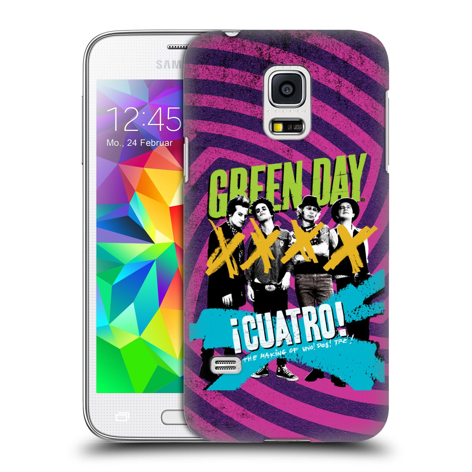 Plastové pouzdro na mobil Samsung Galaxy S5 Mini HEAD CASE Green Day - Cuatro