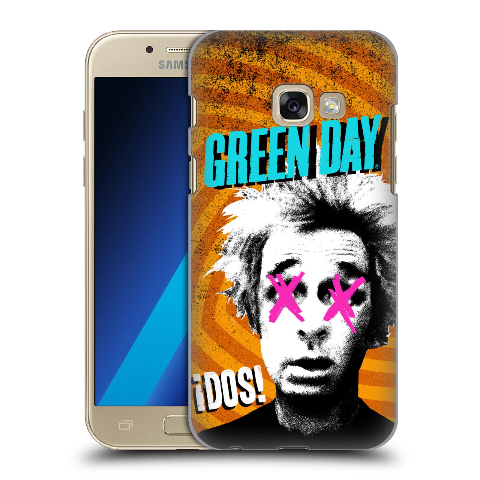 Plastové pouzdro na mobil Samsung Galaxy A3 (2017) HEAD CASE Green Day - Dos
