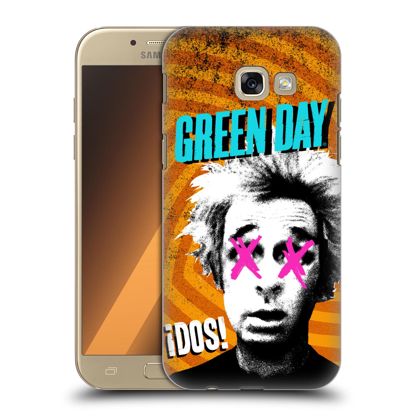 Plastové pouzdro na mobil Samsung Galaxy A5 (2017) HEAD CASE Green Day - Dos
