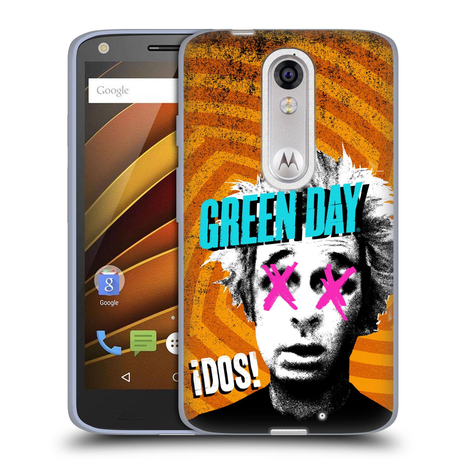 Silikonové pouzdro na mobil Lenovo Moto X Force HEAD CASE Green Day - Dos (Silikonový kryt či obal na mobilní telefon licencovaným motivem Green Day pro Lenovo Moto X Force (Motorola))