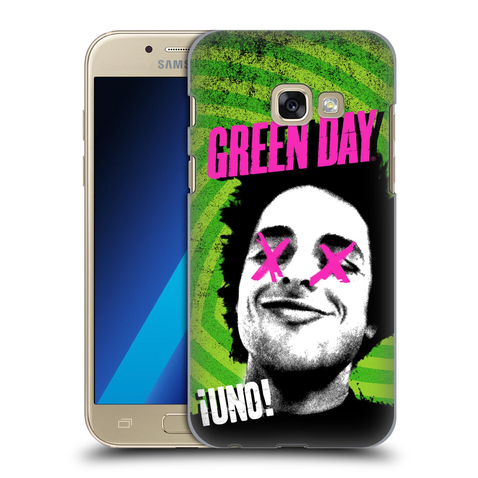 Plastové pouzdro na mobil Samsung Galaxy A3 (2017) HEAD CASE Green Day - Uno