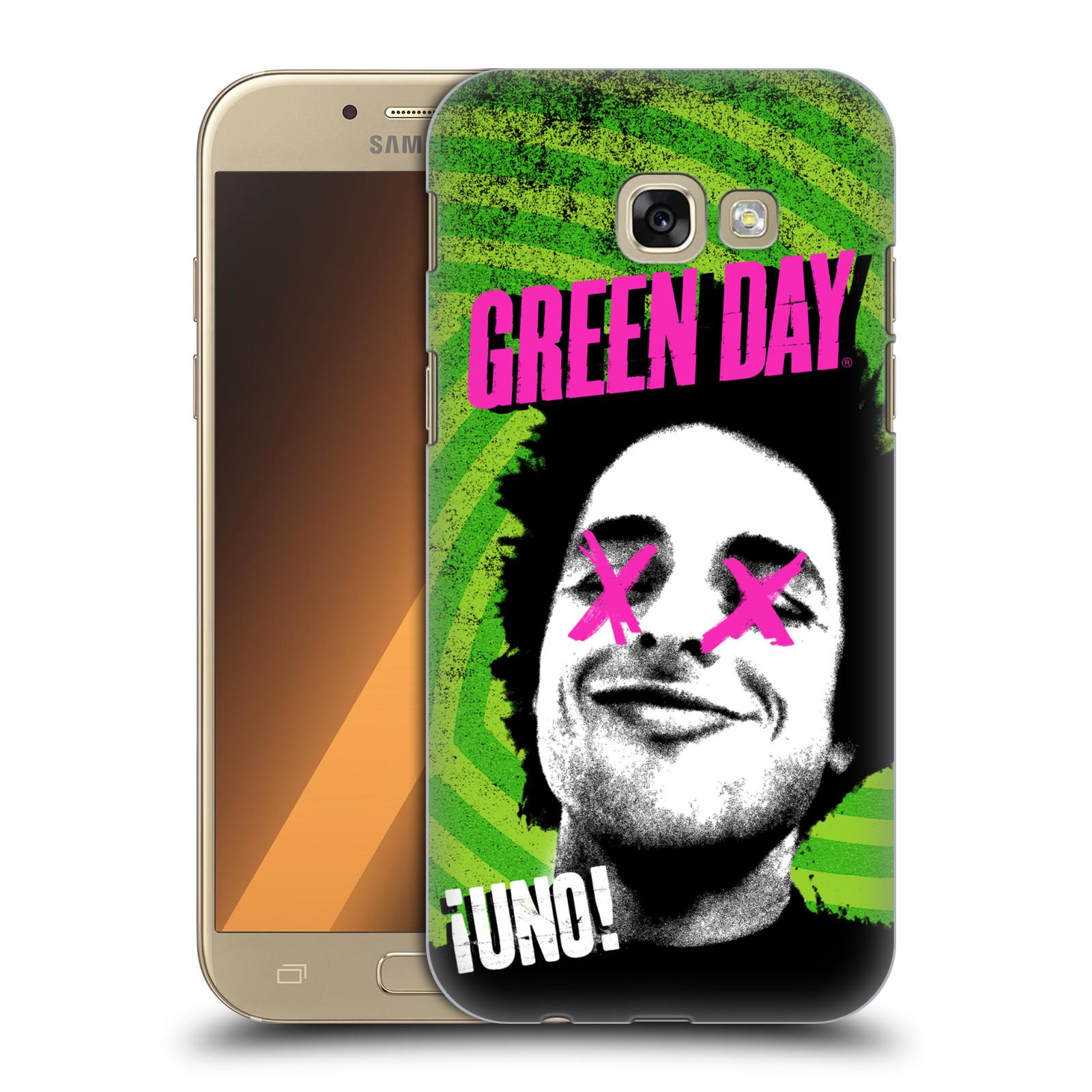Plastové pouzdro na mobil Samsung Galaxy A5 (2017) HEAD CASE Green Day - Uno