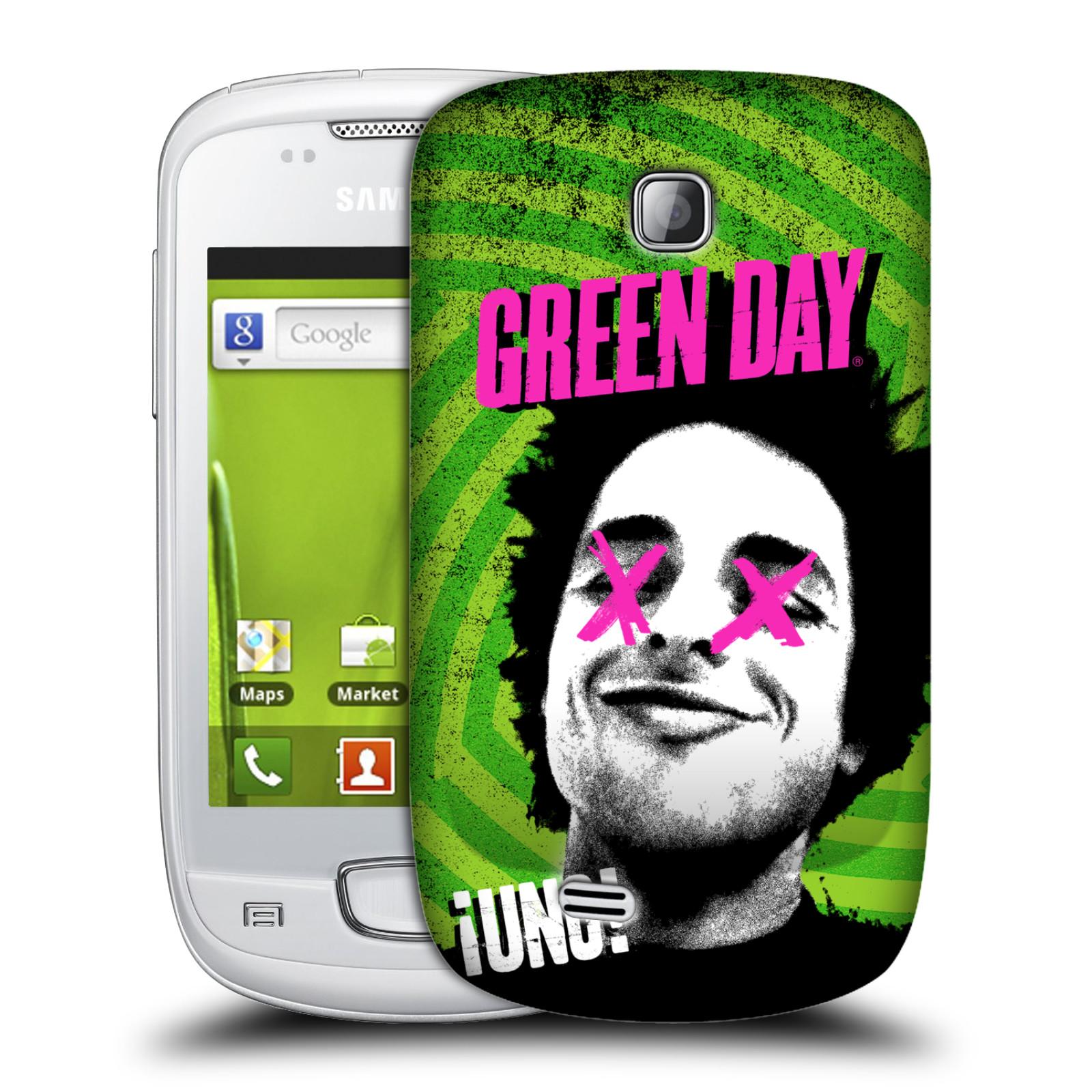 Plastové pouzdro na mobil Samsung Galaxy Mini HEAD CASE Green Day - Uno (Plastový kryt či obal na mobilní telefon licencovaným motivem Green Day pro Samsung Galaxy Mini GT-S5570 / GT-S5570i)
