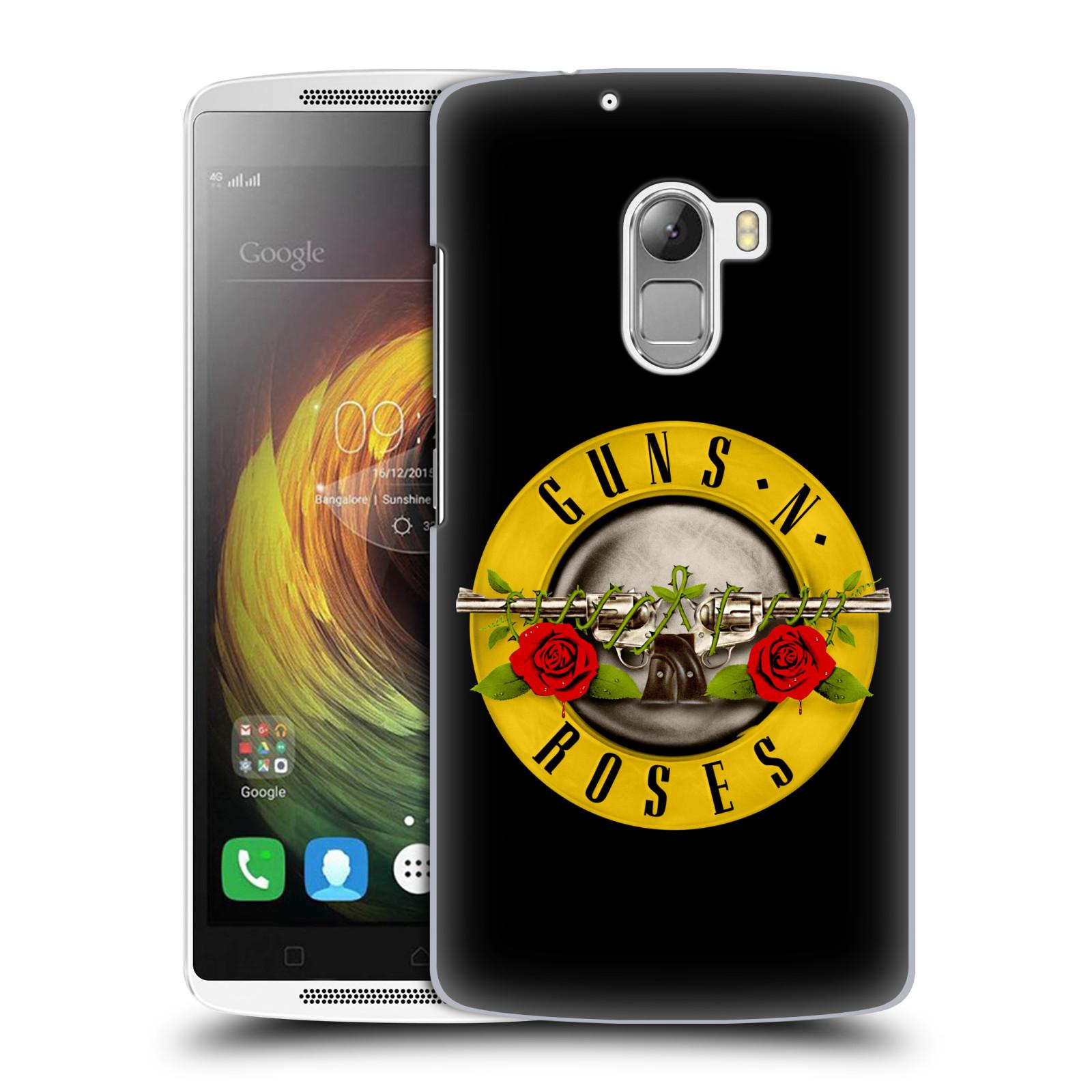 Plastové pouzdro na mobil Lenovo A7010 HEAD CASE Guns N' Roses - Logo