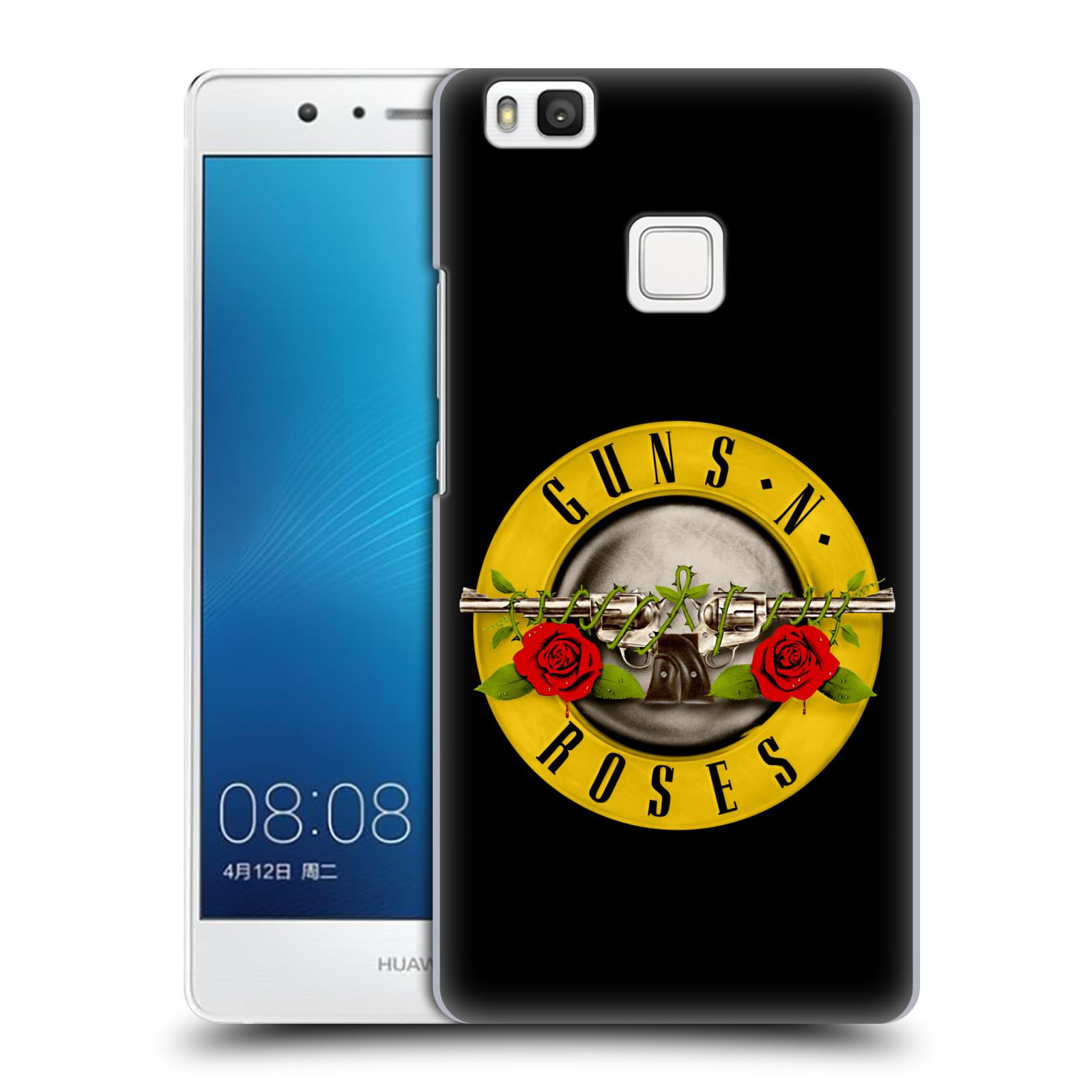 Plastové pouzdro na mobil Huawei P9 Lite HEAD CASE Guns N' Roses - Logo