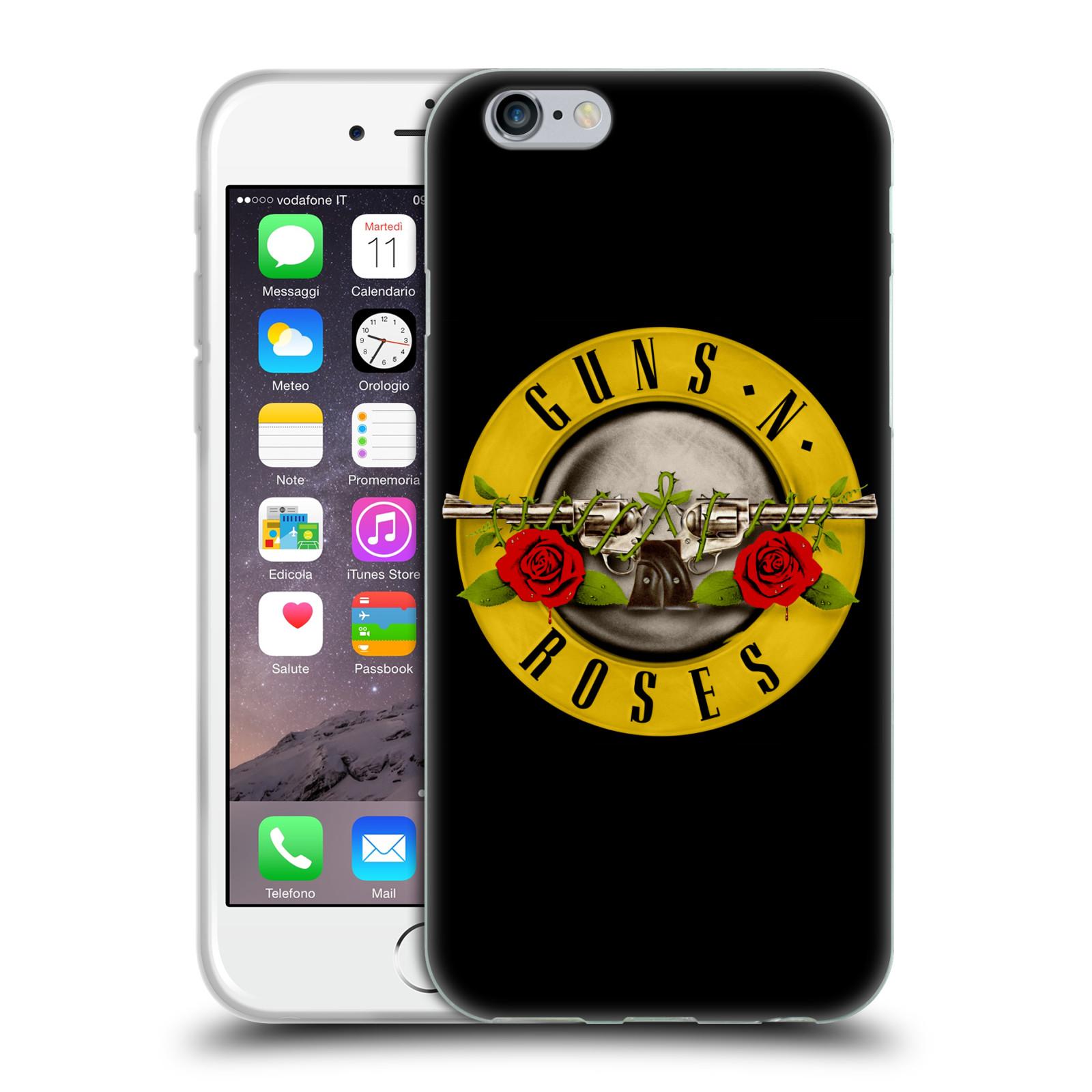 3ab12ea59 Silikonové pouzdro na mobil Apple iPhone 6 HEAD CASE Guns N' Roses - Logo
