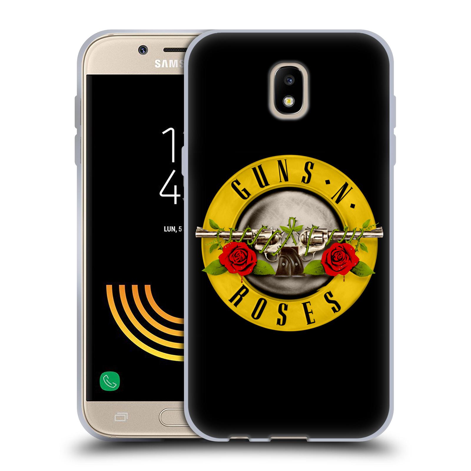 7b99f168e Silikonové pouzdro na mobil Samsung Galaxy J5 (2017) - Head Case - Guns N