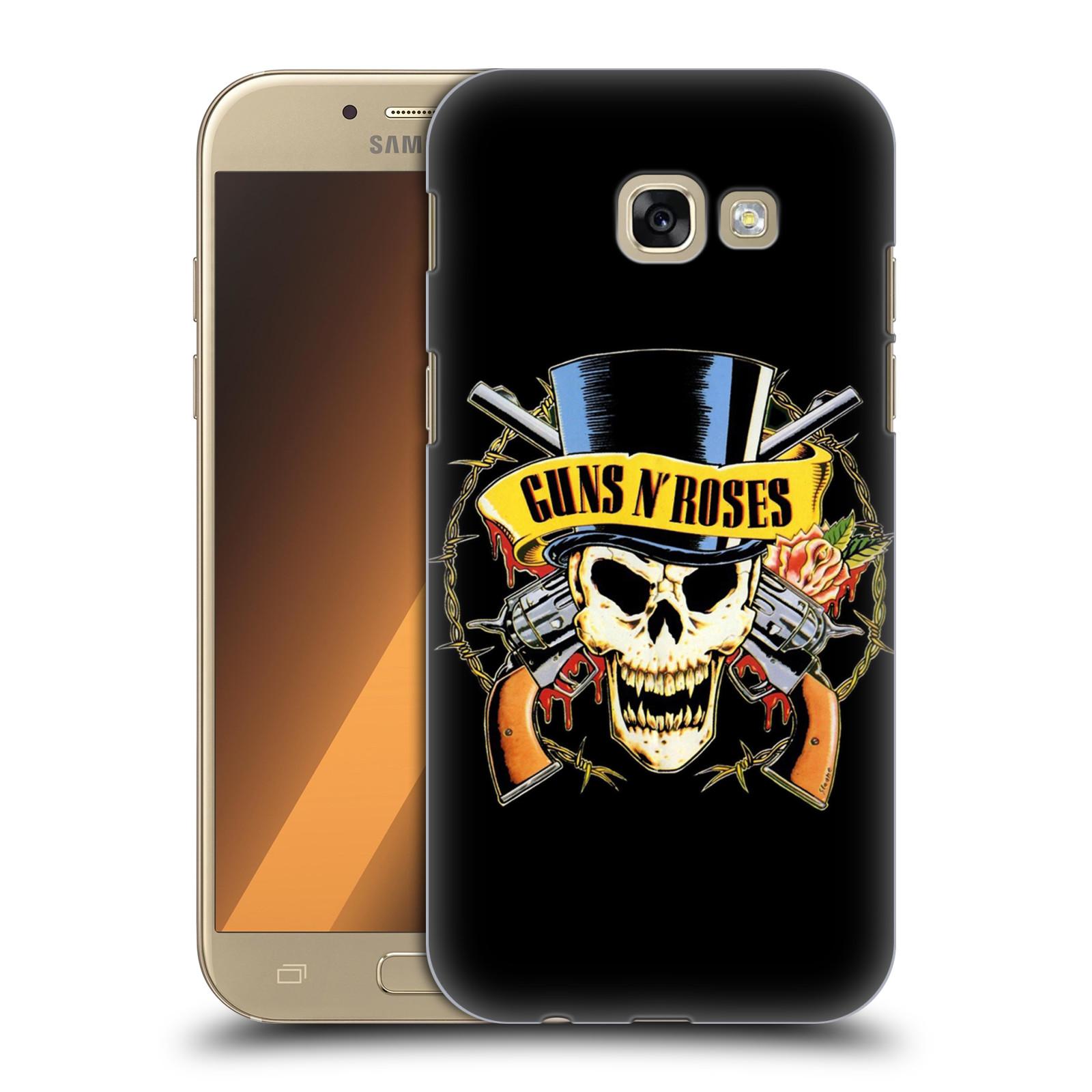 Plastové pouzdro na mobil Samsung Galaxy A5 (2017) HEAD CASE Guns N' Roses - Lebka