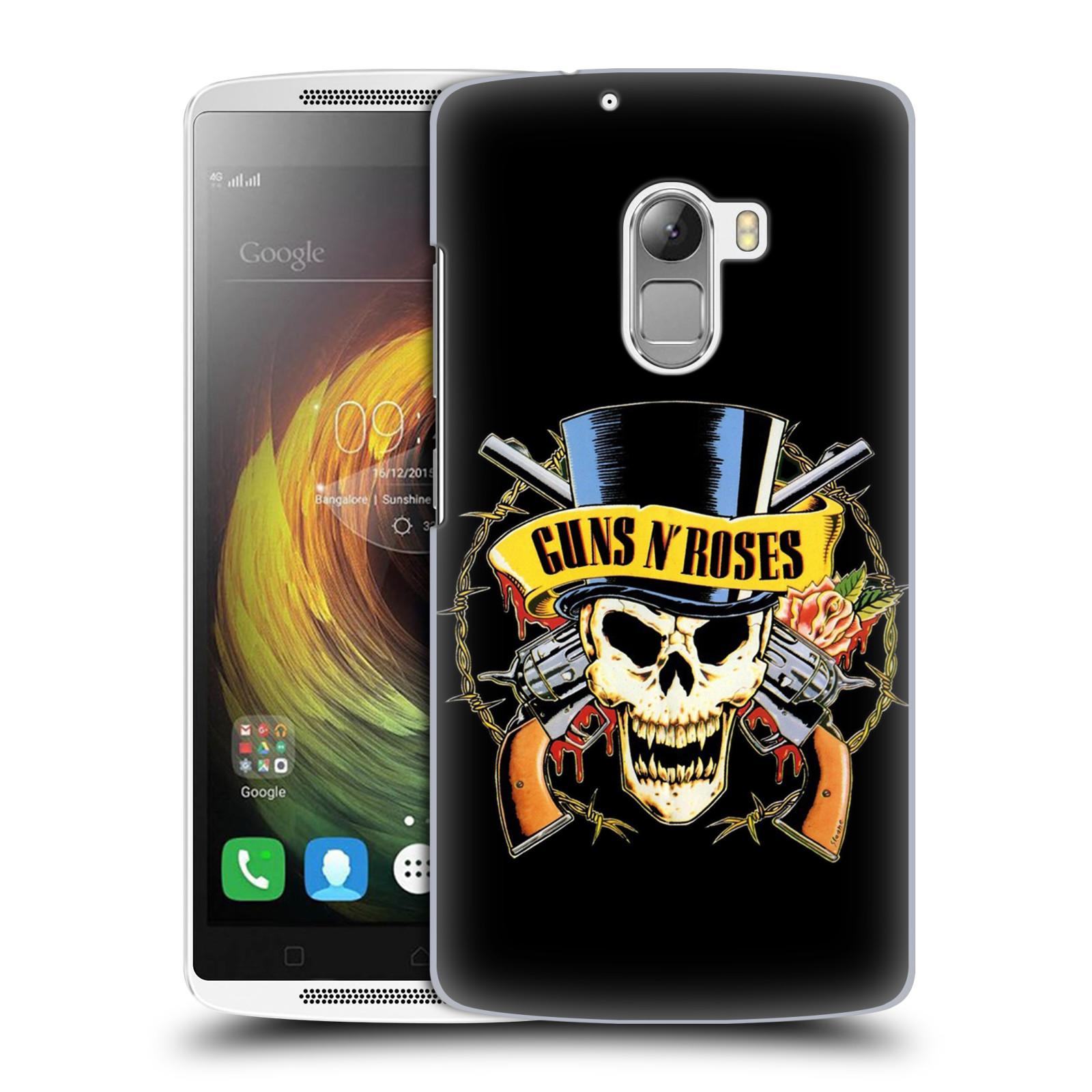 Plastové pouzdro na mobil Lenovo A7010 HEAD CASE Guns N' Roses - Lebka