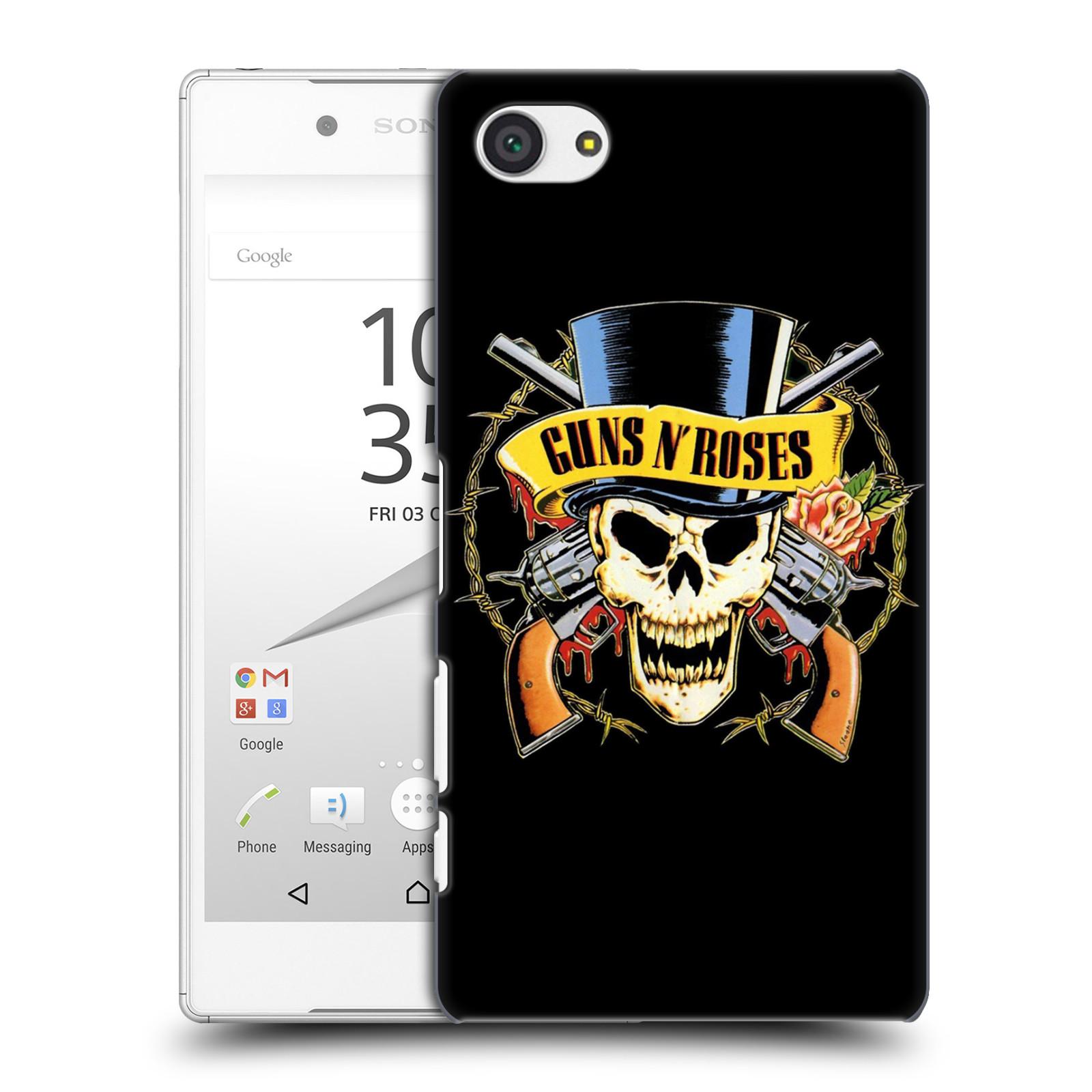 Plastové pouzdro na mobil Sony Xperia Z5 Compact HEAD CASE Guns N' Roses - Lebka