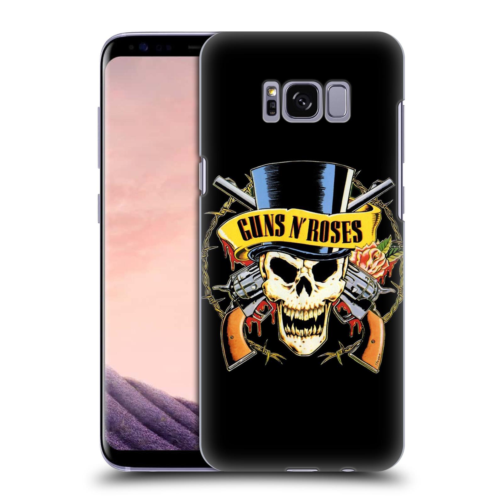 Plastové pouzdro na mobil Samsung Galaxy S8 Head Case Guns N' Roses - Lebka