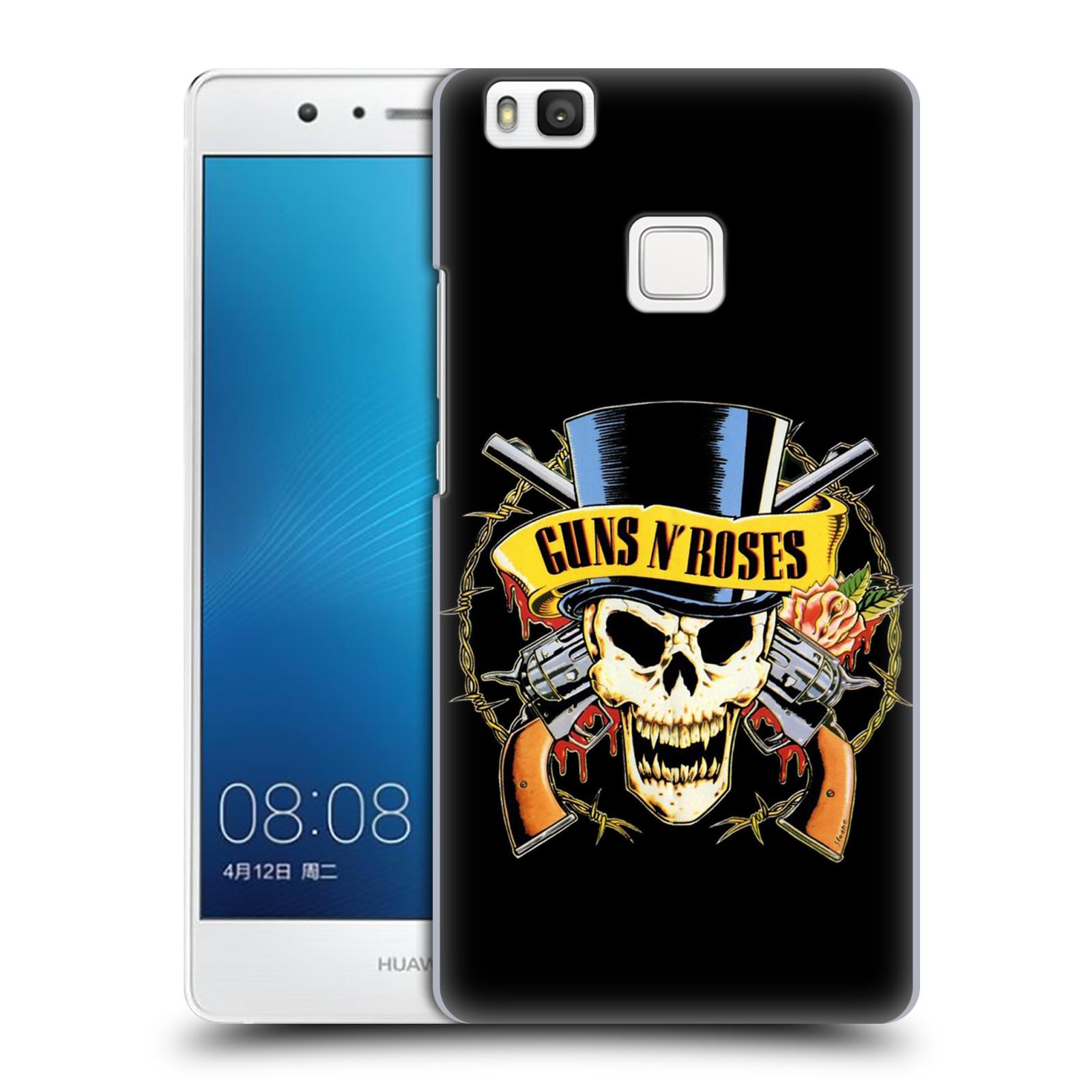 Plastové pouzdro na mobil Huawei P9 Lite HEAD CASE Guns N' Roses - Lebka