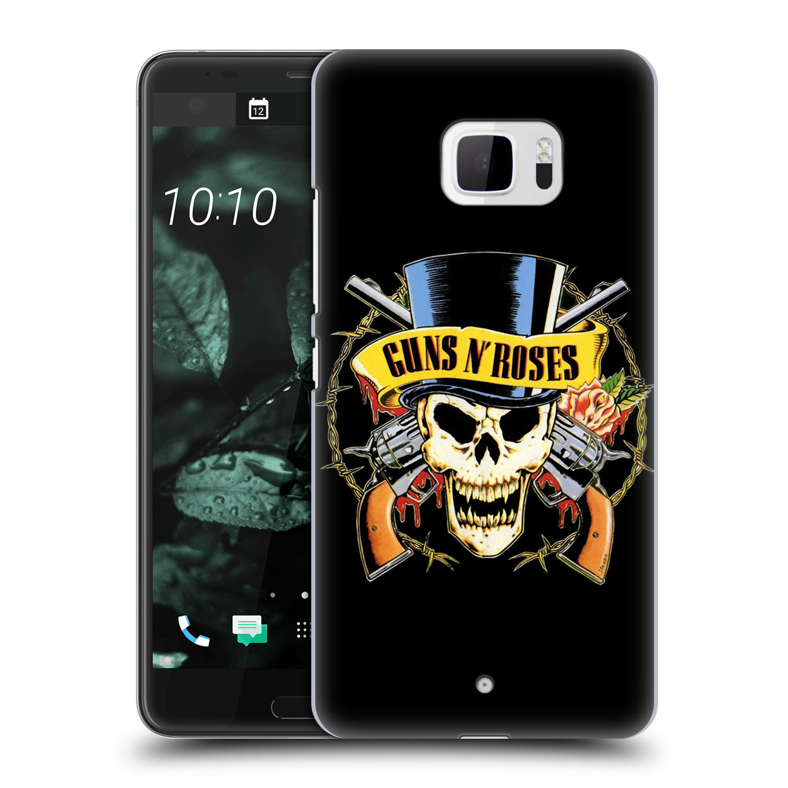 Plastové pouzdro na mobil HTC U Ultra Head Case - Guns N' Roses - Lebka