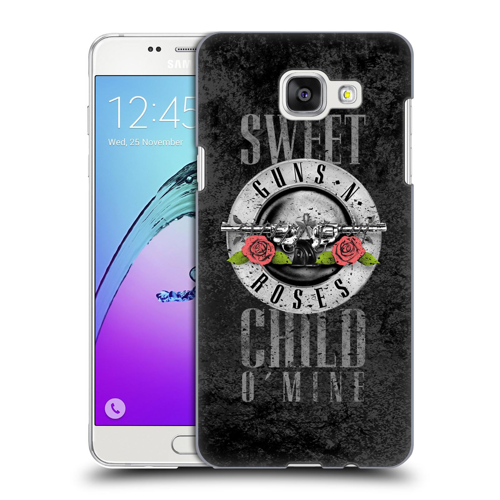 Plastové pouzdro na mobil Samsung Galaxy A5 (2016) HEAD CASE Guns N' Roses - Sweet Child