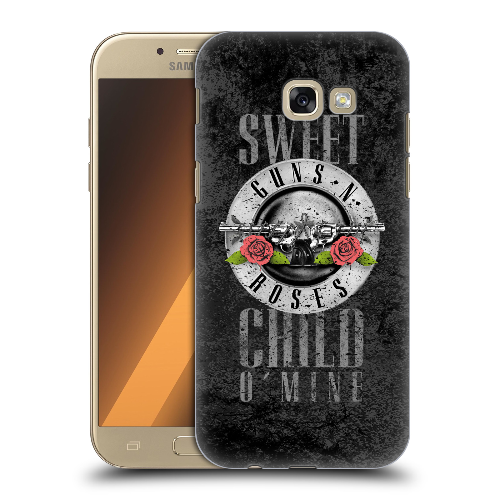 Plastové pouzdro na mobil Samsung Galaxy A5 (2017) HEAD CASE Guns N' Roses - Sweet Child