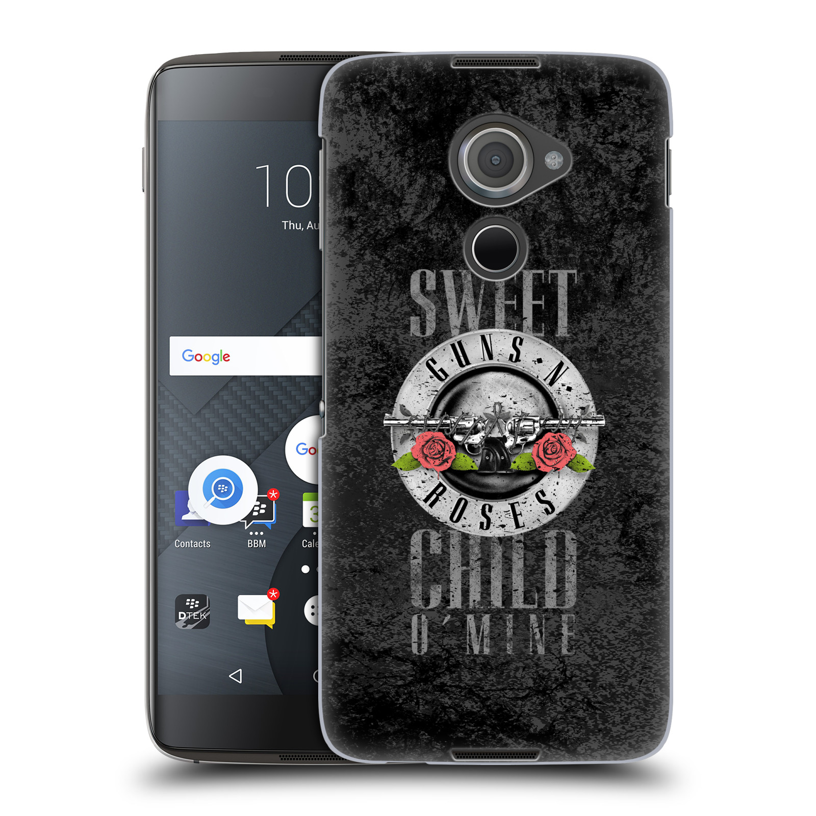 Plastové pouzdro na mobil Blackberry DTEK60 (Argon) - Head Case Guns N' Roses - Sweet Child