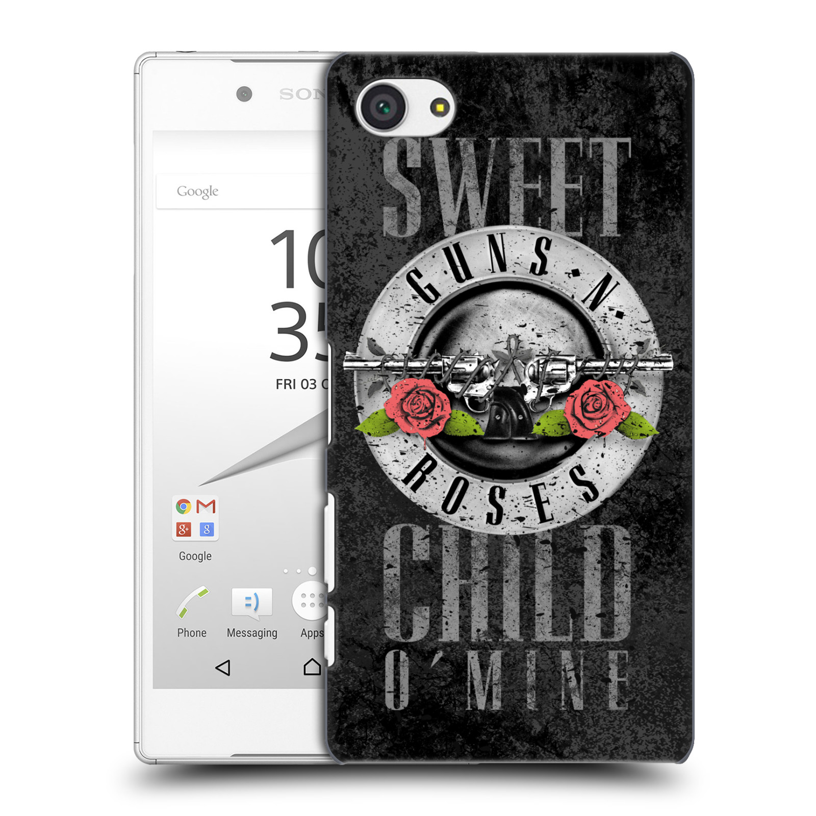 Plastové pouzdro na mobil Sony Xperia Z5 Compact HEAD CASE Guns N' Roses - Sweet Child