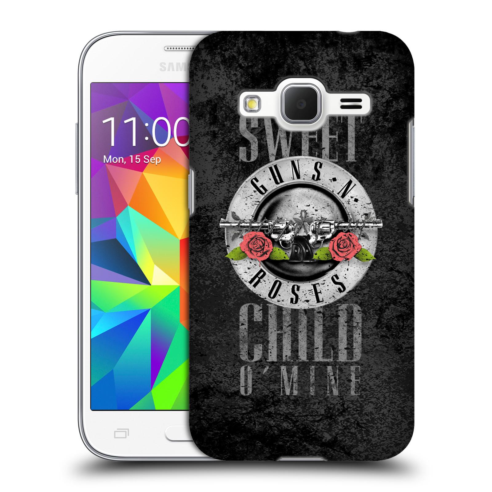 Plastové pouzdro na mobil Samsung Galaxy Core Prime VE HEAD CASE Guns N' Roses - Sweet Child