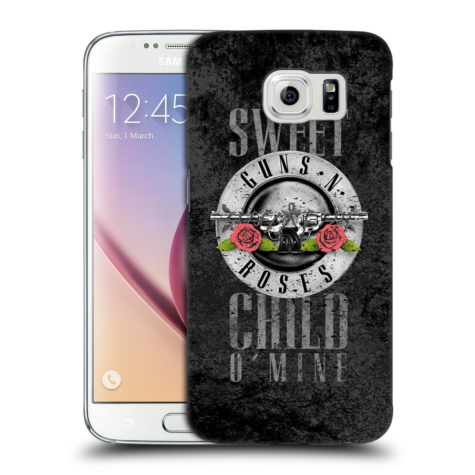 Plastové pouzdro na mobil Samsung Galaxy S6 HEAD CASE Guns N' Roses - Sweet Child