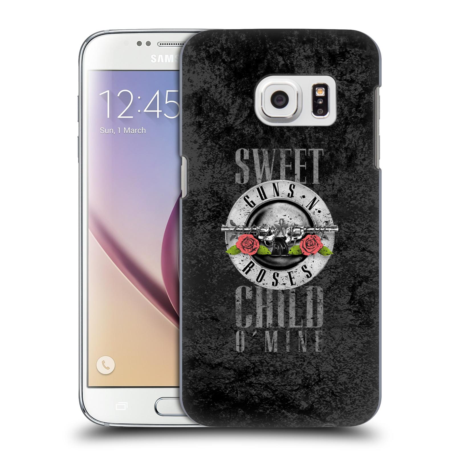 Plastové pouzdro na mobil Samsung Galaxy S7 HEAD CASE Guns N' Roses - Sweet Child