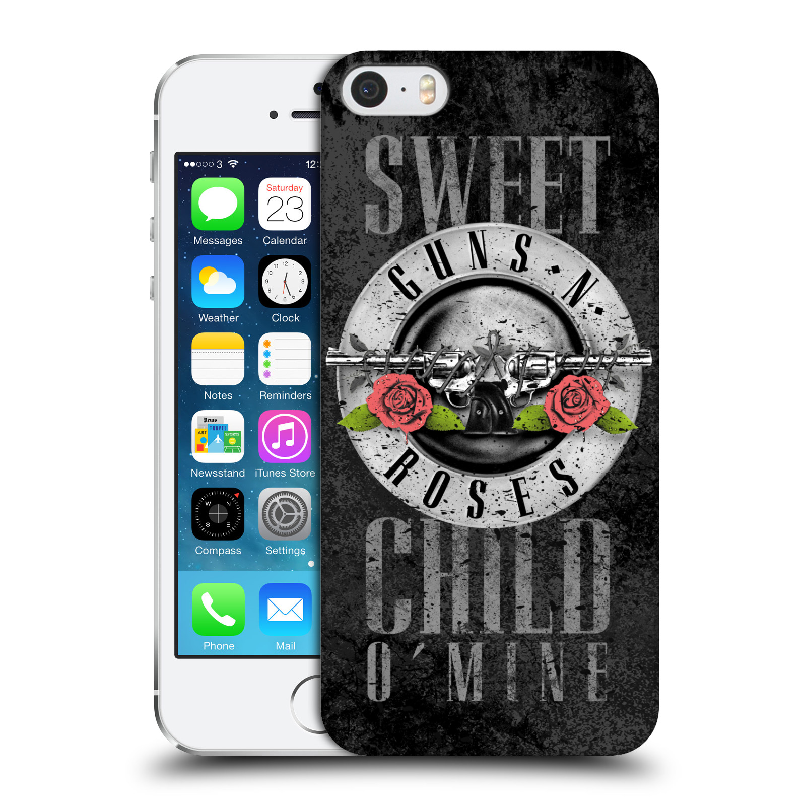 Plastové pouzdro na mobil Apple iPhone SE, 5 a 5S HEAD CASE Guns N' Roses - Sweet Child