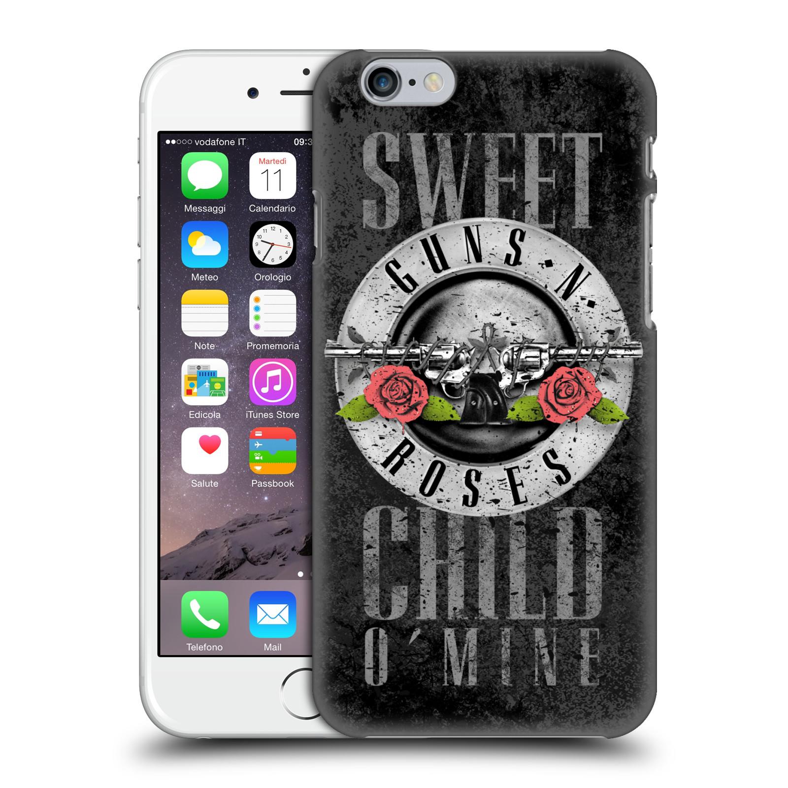 Plastové pouzdro na mobil Apple iPhone 6 HEAD CASE Guns N' Roses - Sweet Child