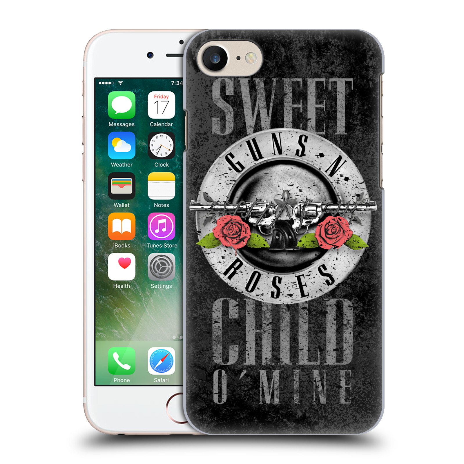 Plastové pouzdro na mobil Apple iPhone 7 HEAD CASE Guns N' Roses - Sweet Child
